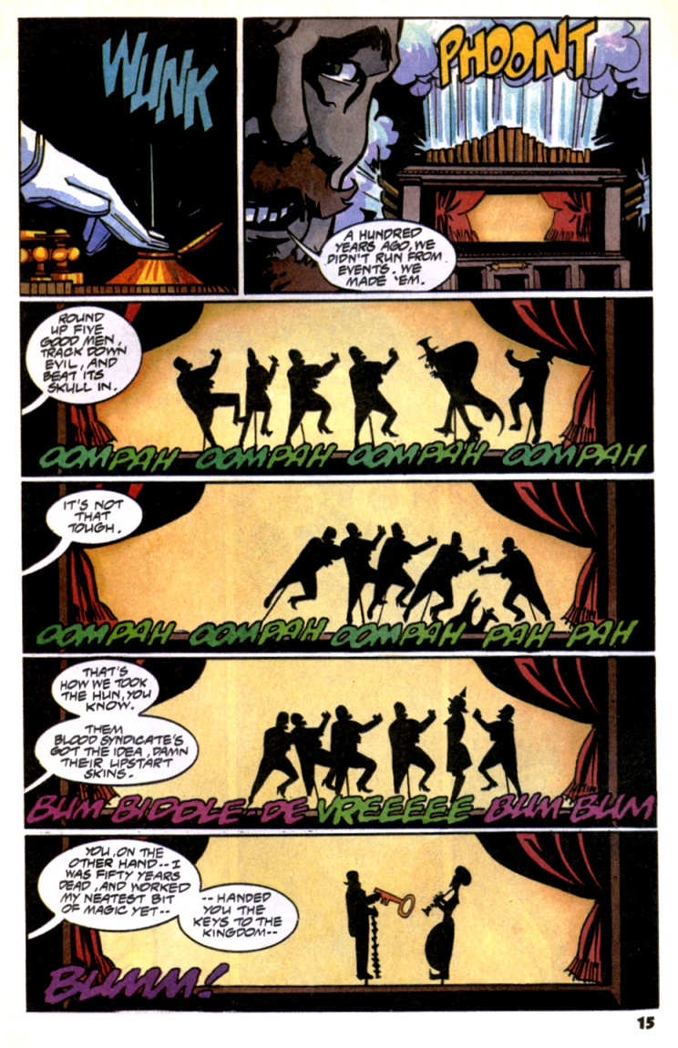 Read online Shadow Cabinet comic -  Issue #10 - 17