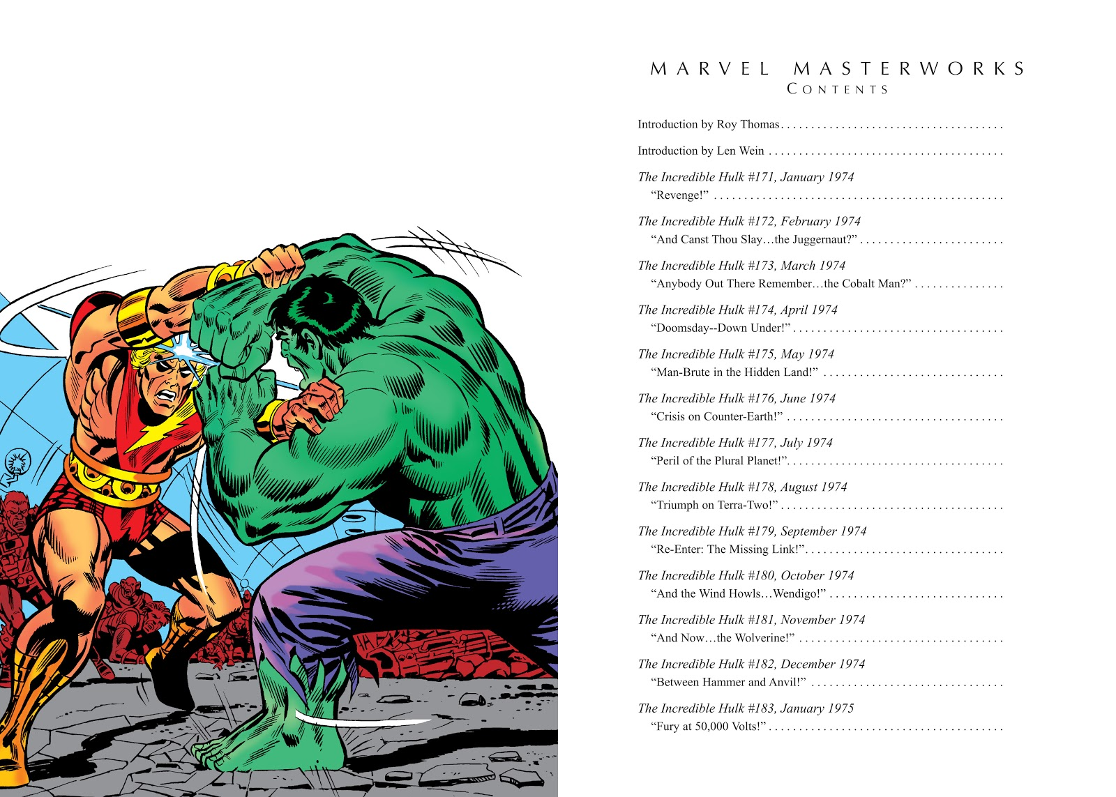 Read online Marvel Masterworks: The Incredible Hulk comic -  Issue # TPB 10 (Part 1) - 4
