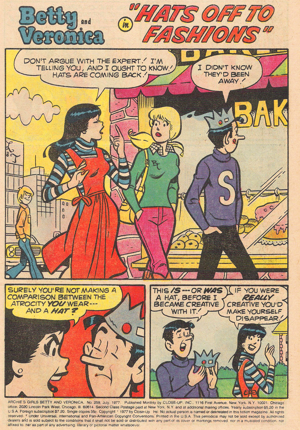 Read online Archie's Girls Betty and Veronica comic -  Issue #259 - 3