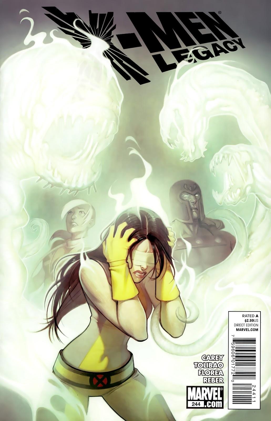 X-Men Legacy (2008) 244 Page 1