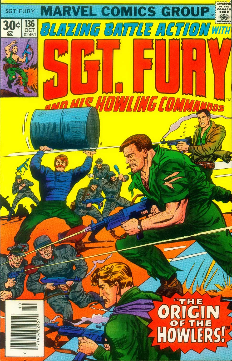 Sgt. Fury issue 136 - Page 1