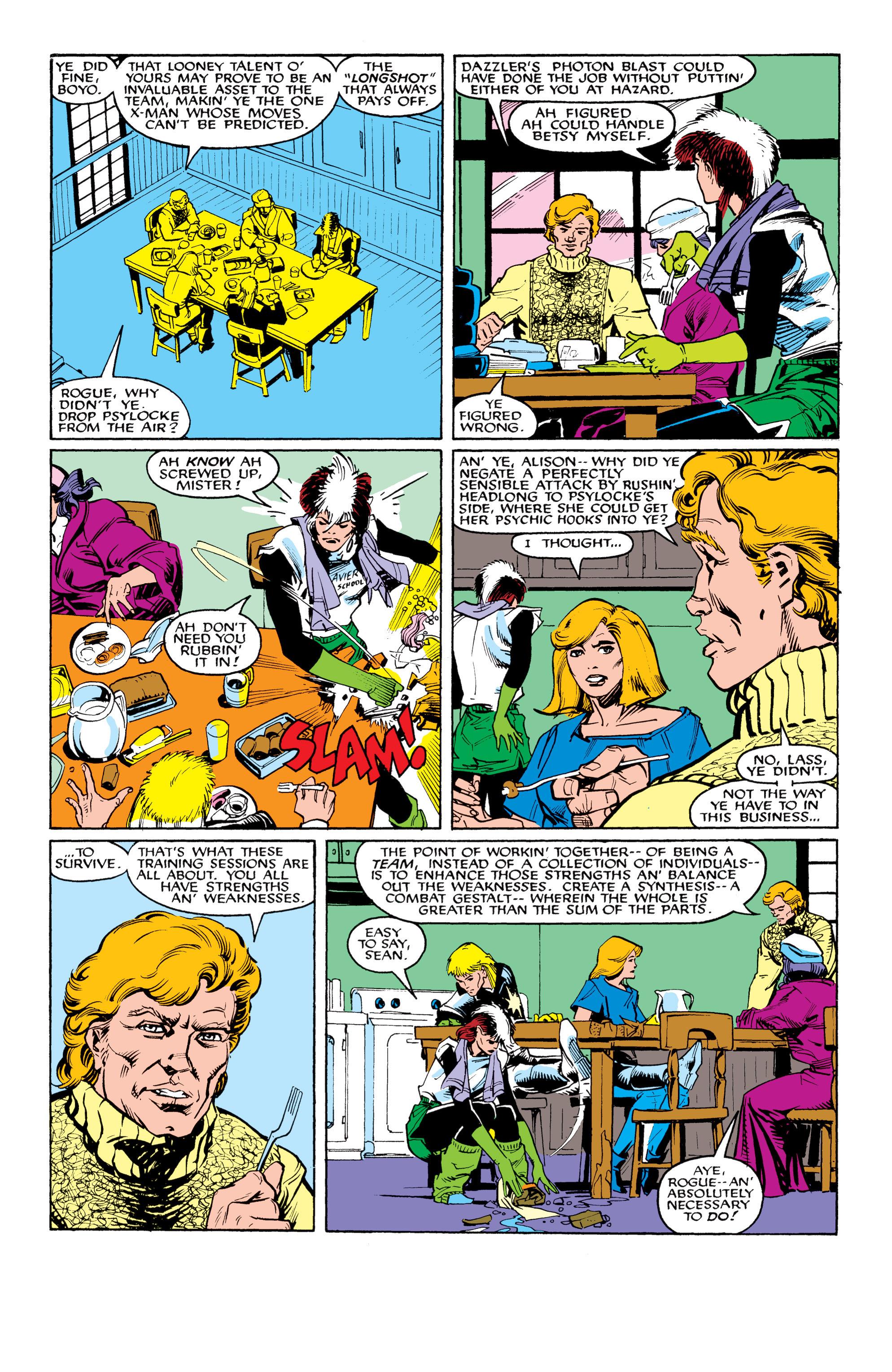 Read online Uncanny X-Men (1963) comic -  Issue #217 - 9