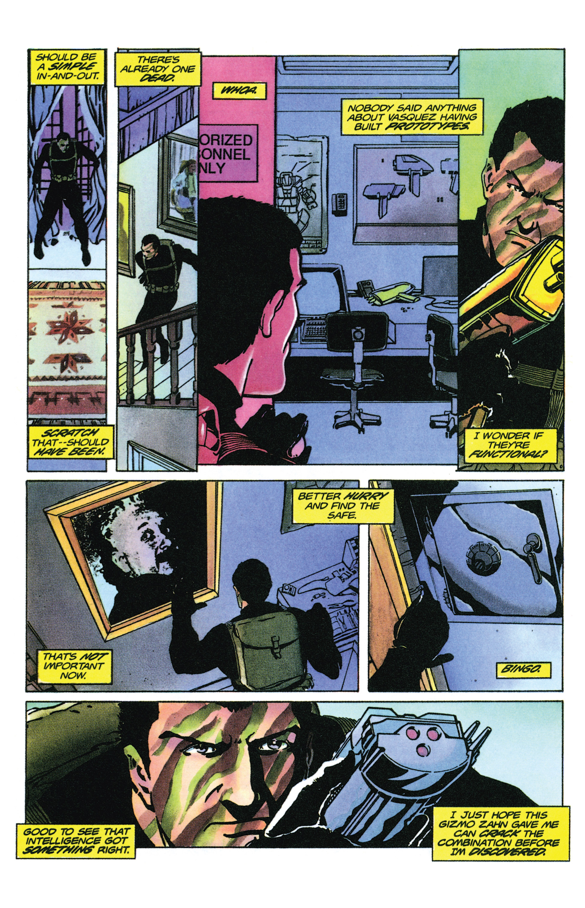 Read online Armorines comic -  Issue #9 - 5