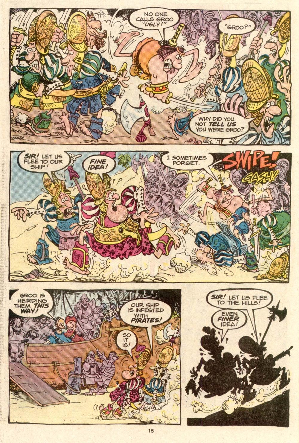 Read online Sergio Aragonés Groo the Wanderer comic -  Issue #33 - 15