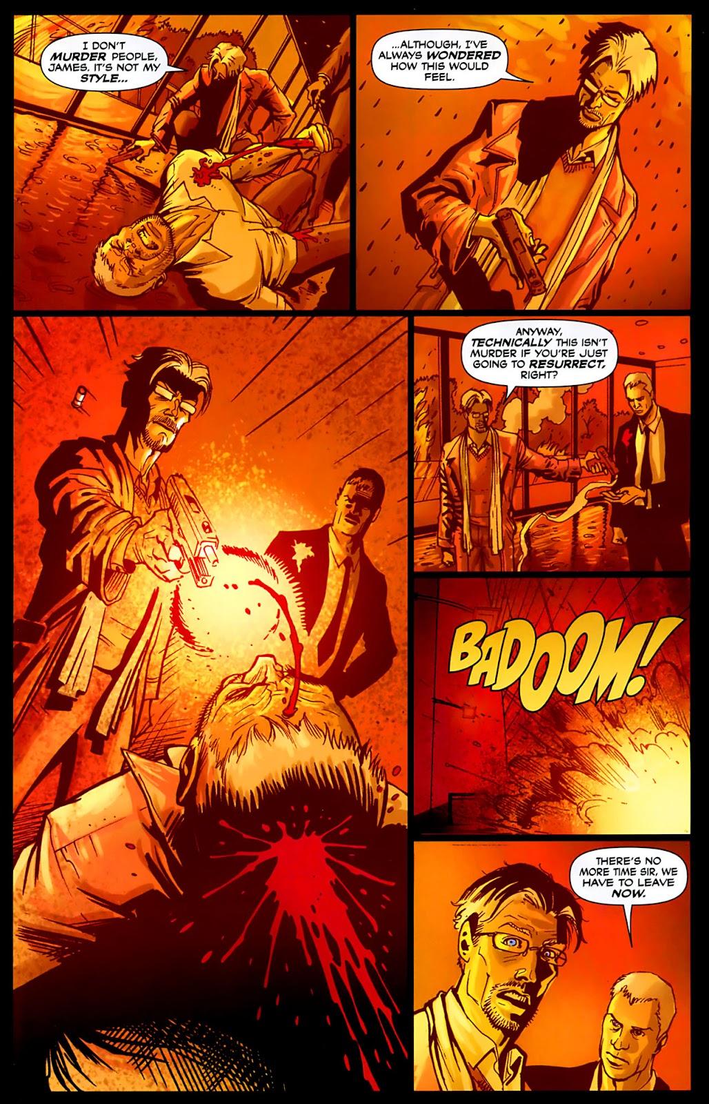Read online Lazarus (2007) comic -  Issue #3 - 21
