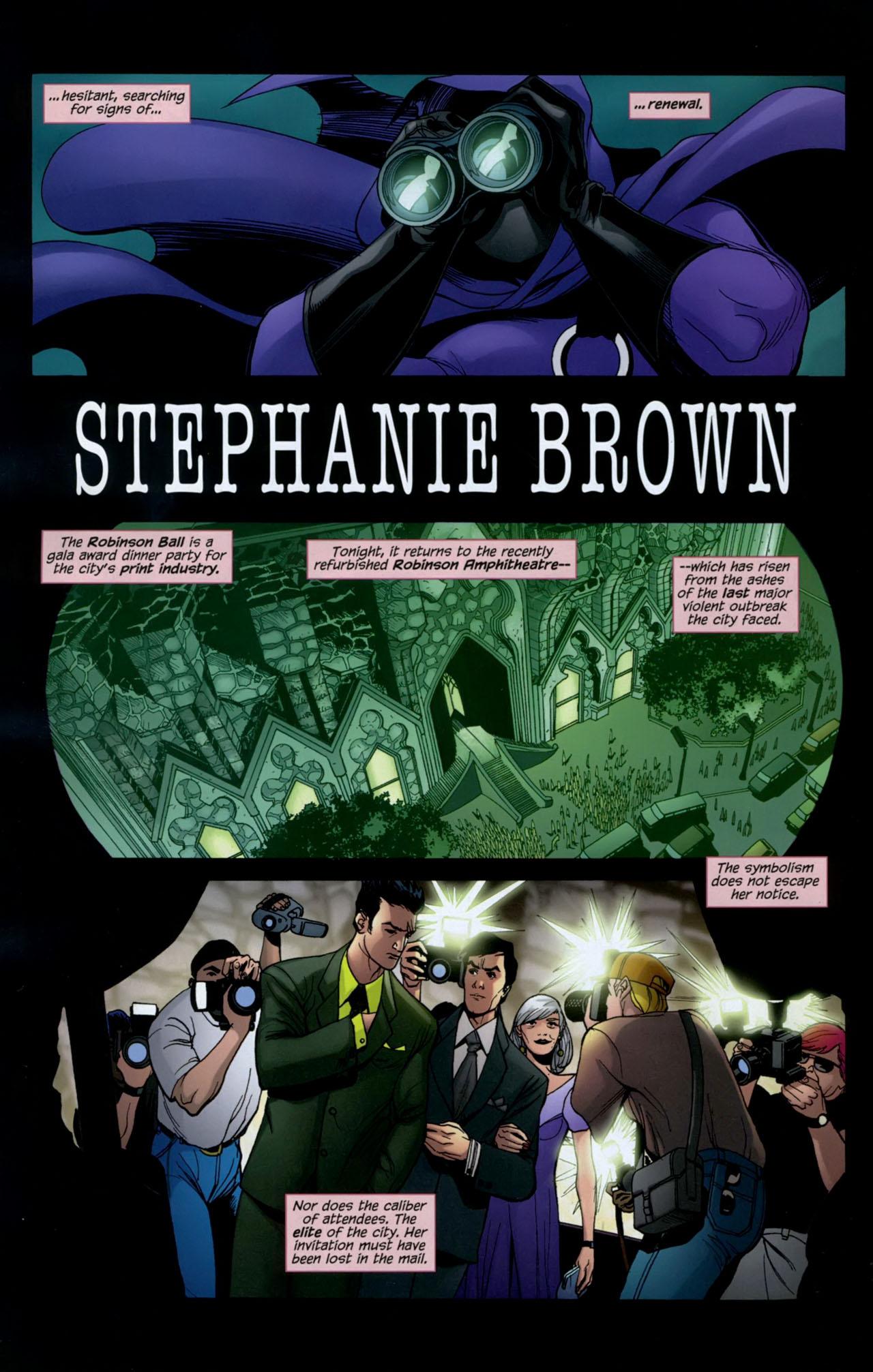 Read online Gotham Gazette comic -  Issue # Issue Batman Alive - 13