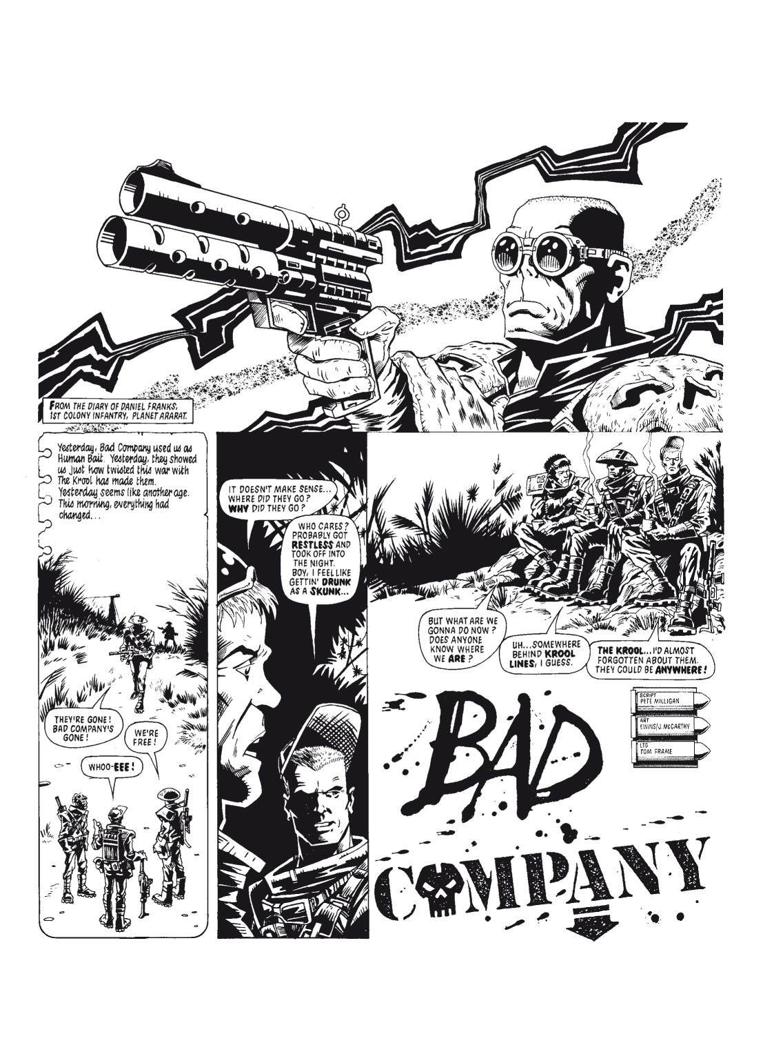 Read online The Complete Bad Company comic -  Issue # TPB - 18