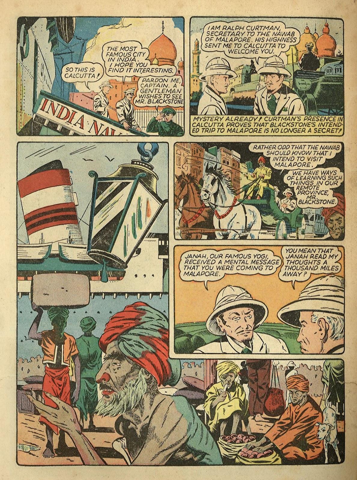 Read online Super-Magician Comics comic -  Issue #1 - 5
