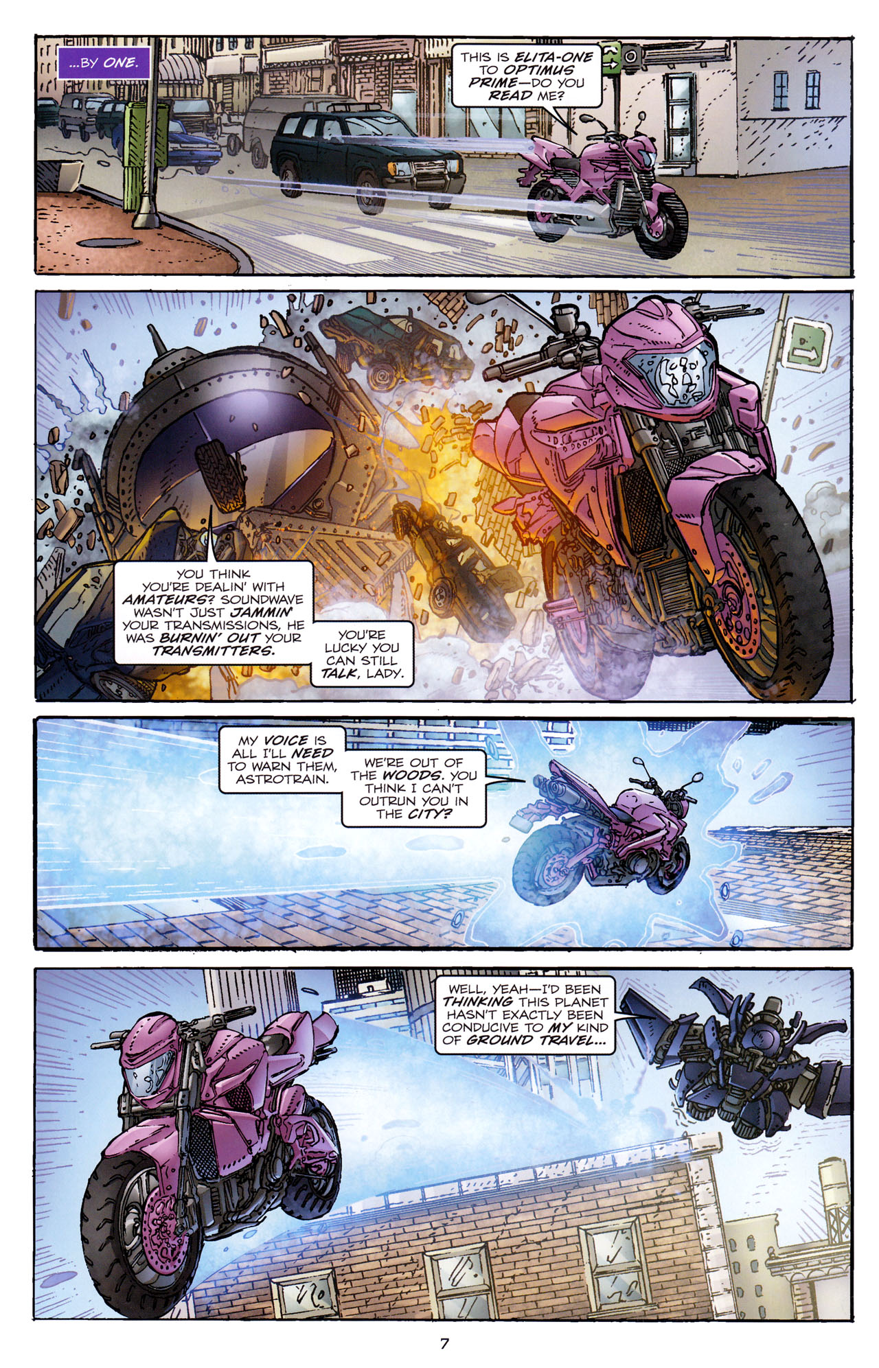 Read online Transformers: Dark of the Moon Rising Storm comic -  Issue #4 - 8