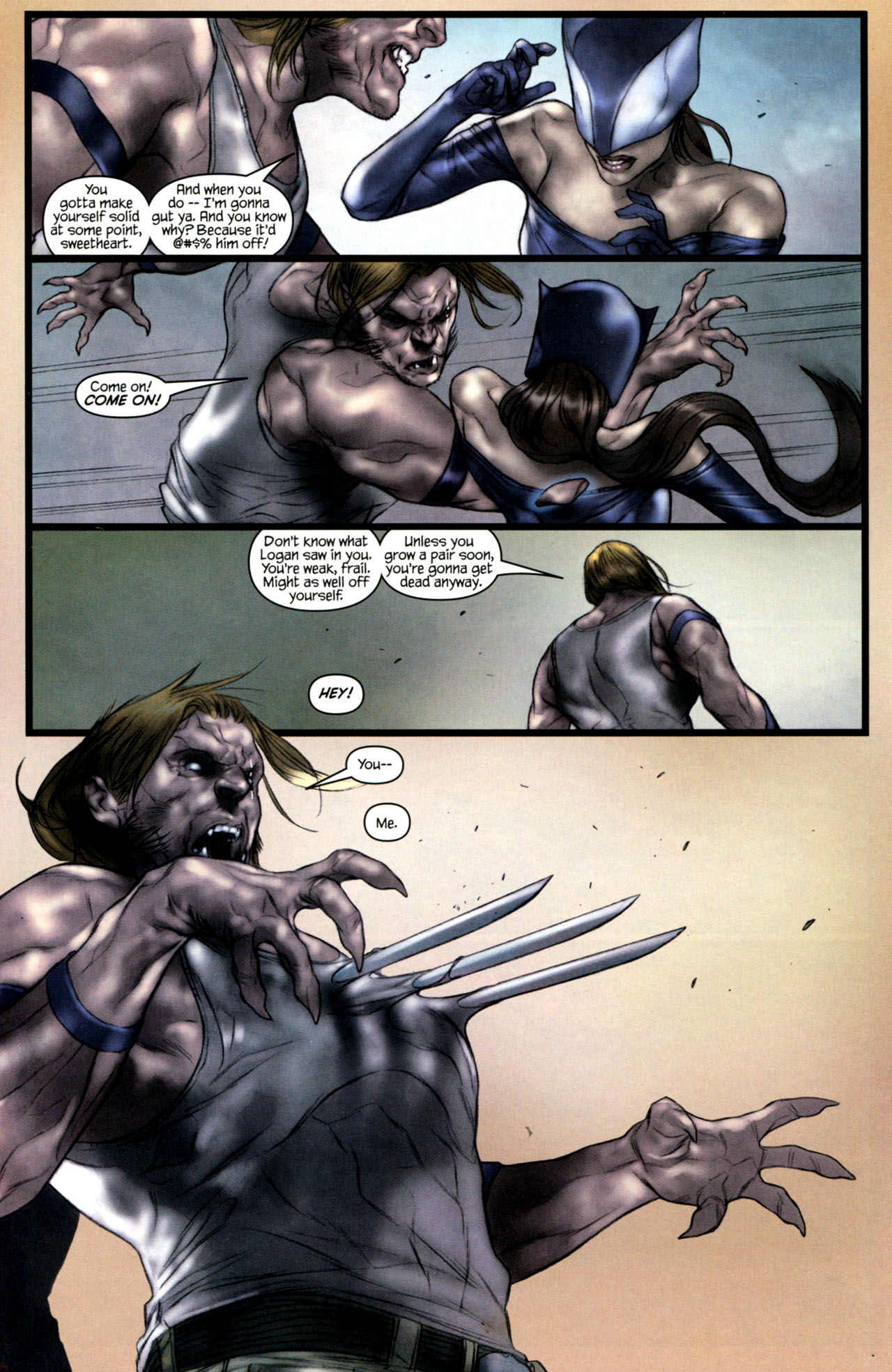 Read online Ultimatum: X-Men Requiem comic -  Issue # Full - 19