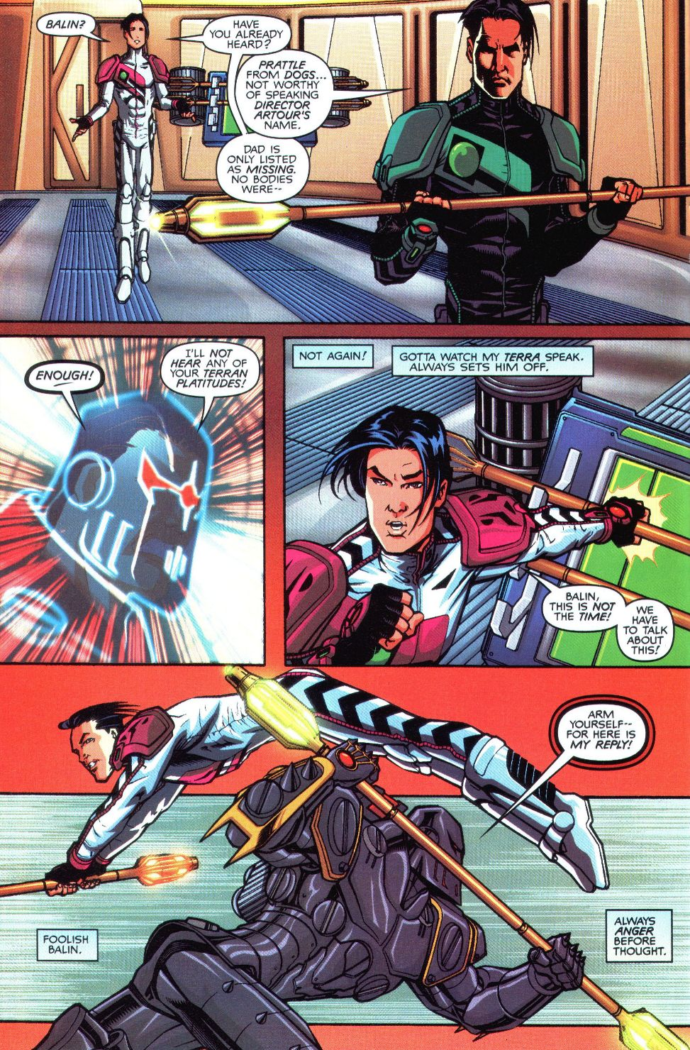Read online Spaceknights (2000) comic -  Issue #1 - 10