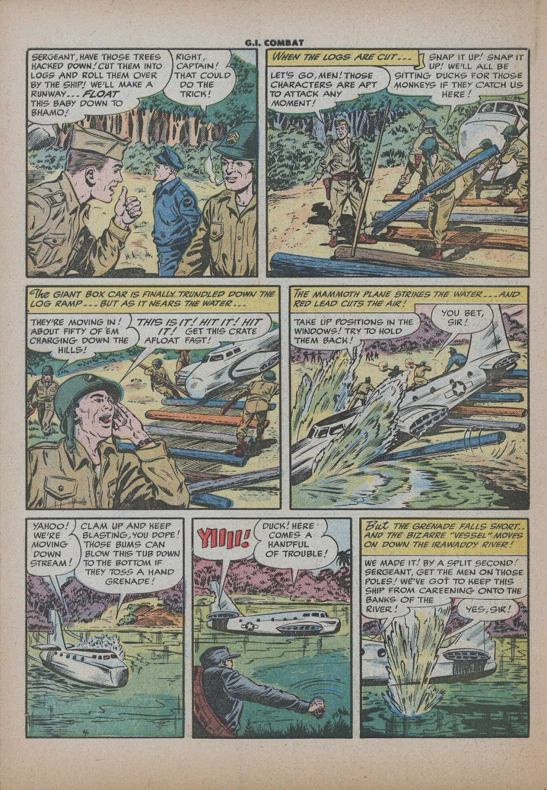 G.I. Combat (1952) issue 26 - Page 30