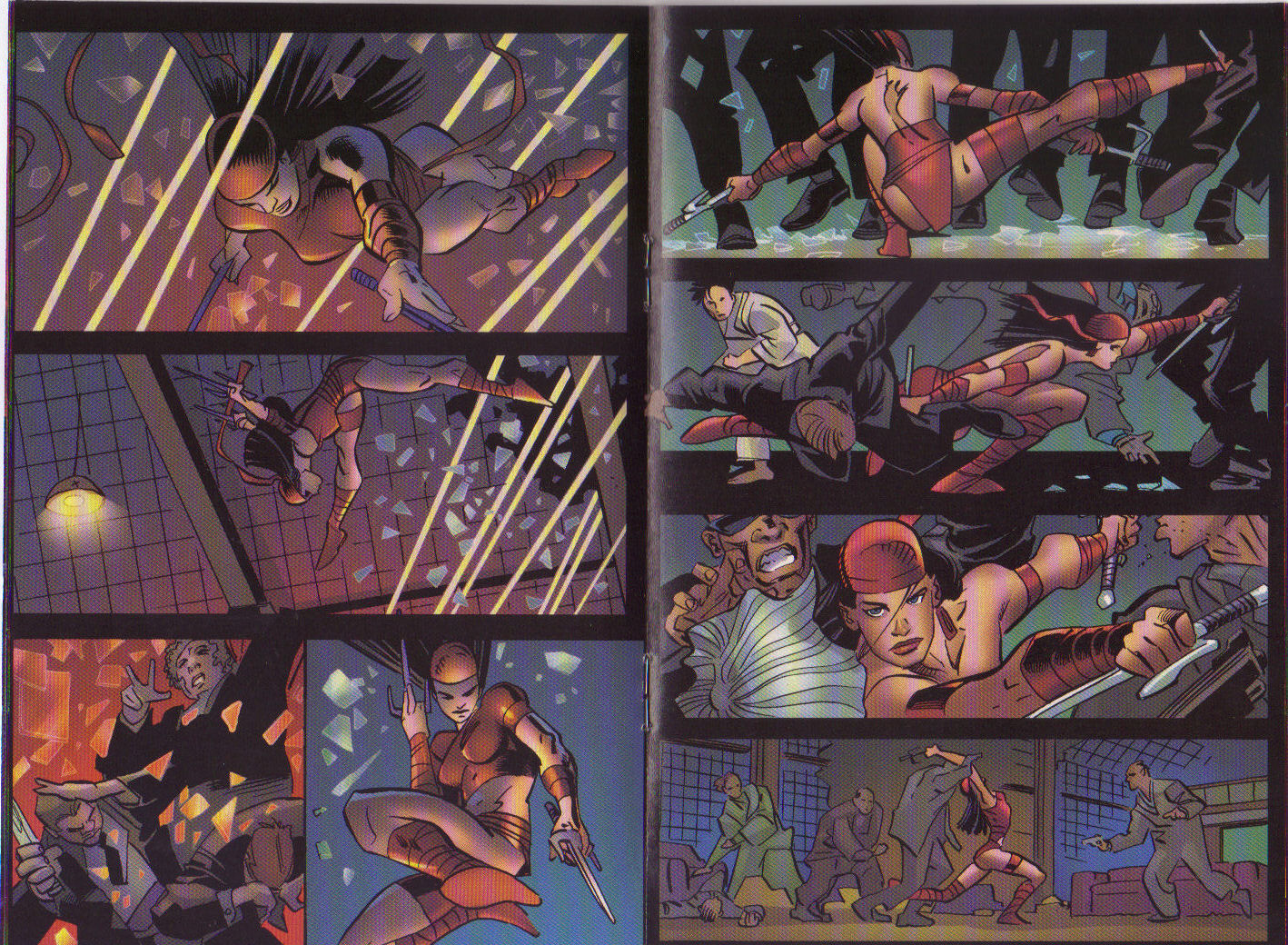 Read online Elektra: On the Rise comic -  Issue # Full - 8