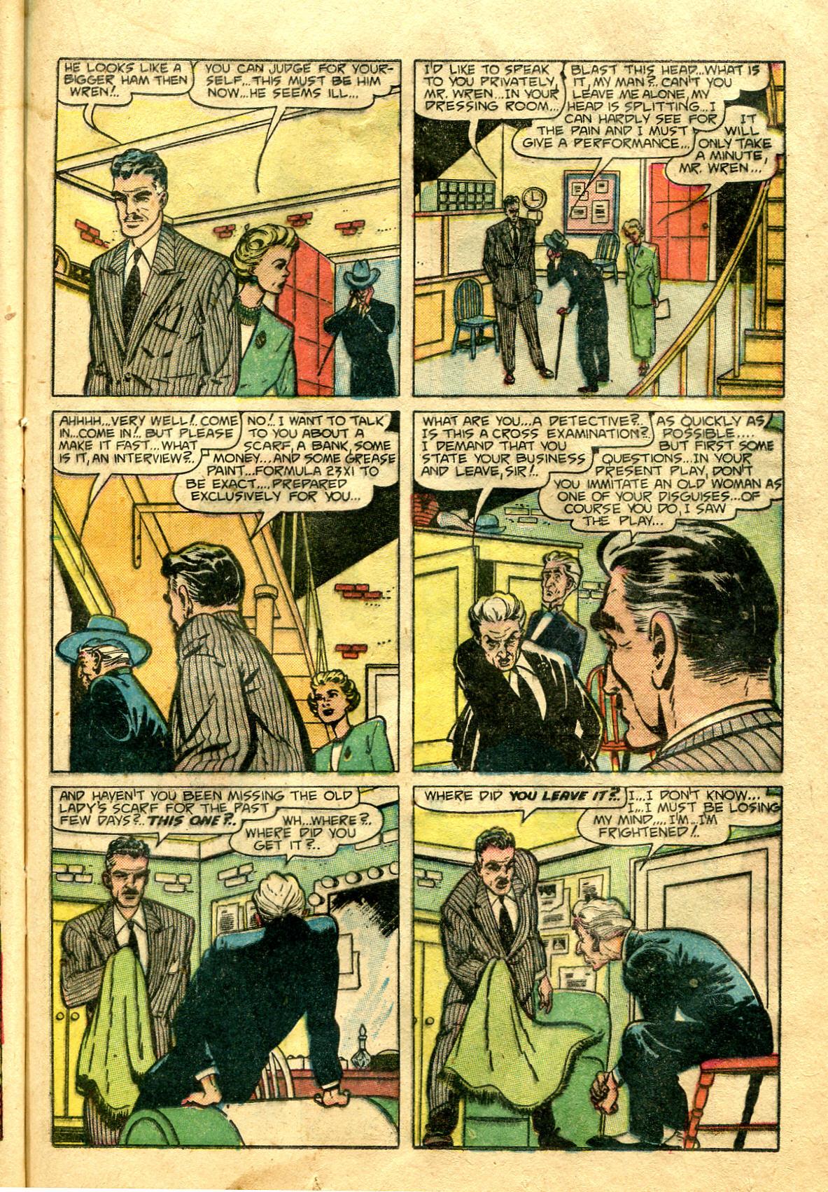Read online Shadow Comics comic -  Issue #99 - 35