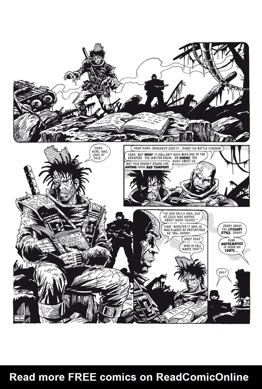 Read online The Complete Bad Company comic -  Issue # TPB - 108
