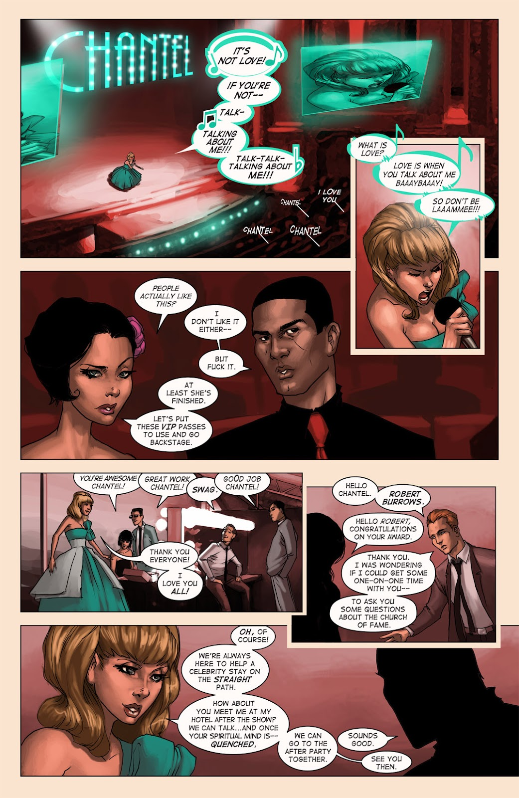 Read online Vescell comic -  Issue #4 - 18