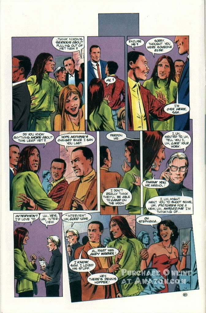 Read online Quantum Leap comic -  Issue #9 - 11