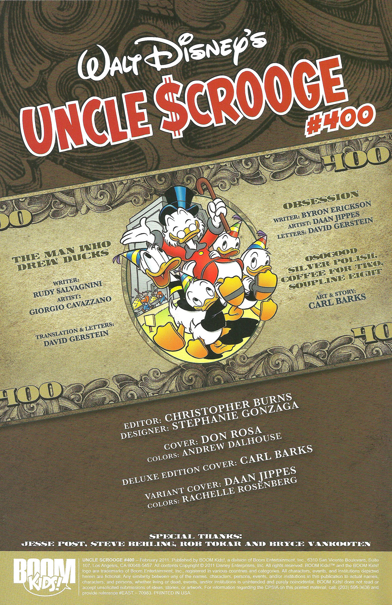 Read online Uncle Scrooge (1953) comic -  Issue #400 - 2