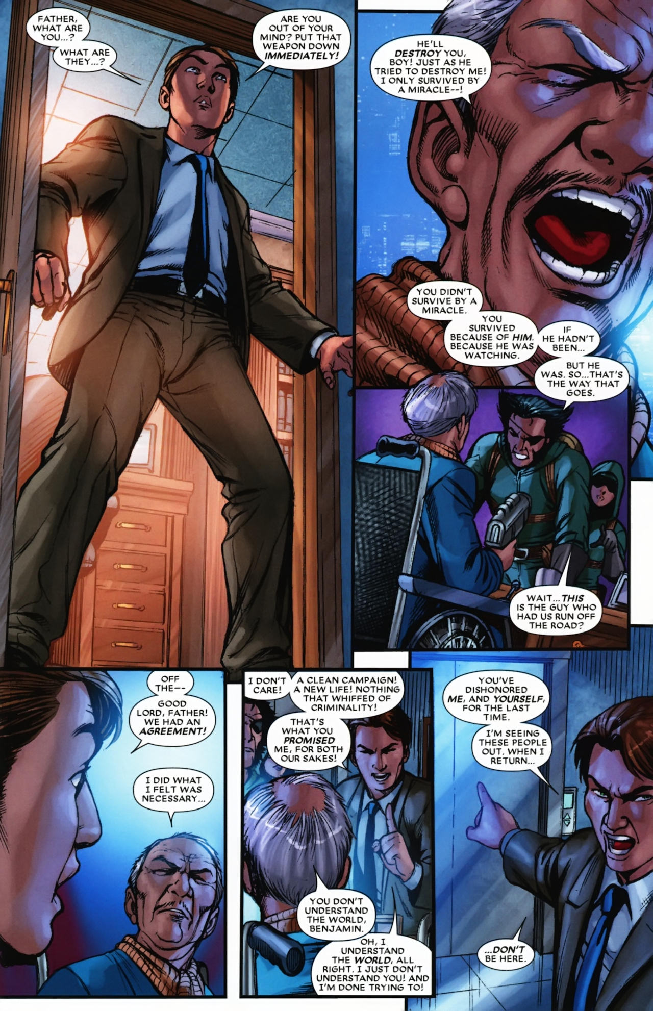 Read online Wolverine: First Class comic -  Issue #17 - 22