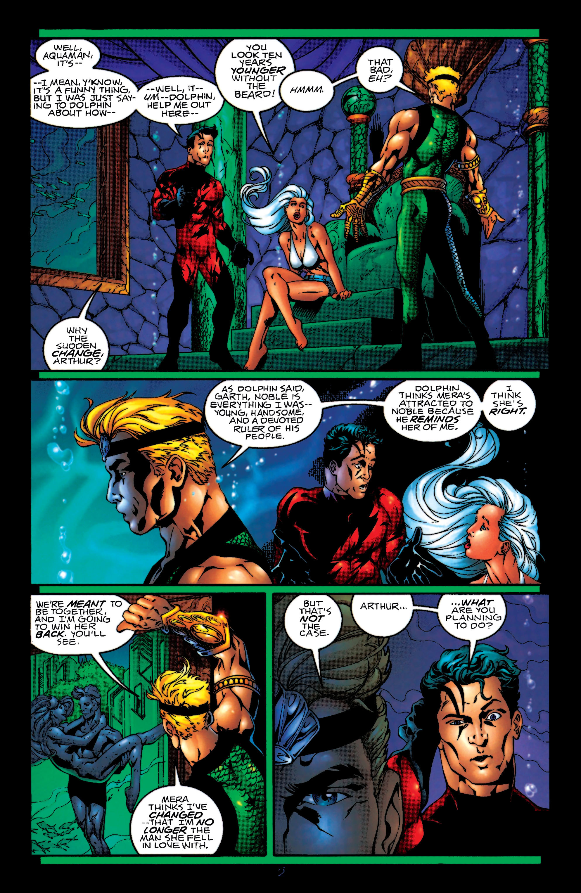 Read online Aquaman (1994) comic -  Issue #55 - 3