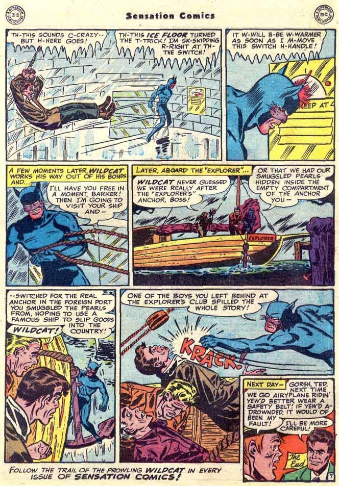 Read online Sensation (Mystery) Comics comic -  Issue #89 - 23