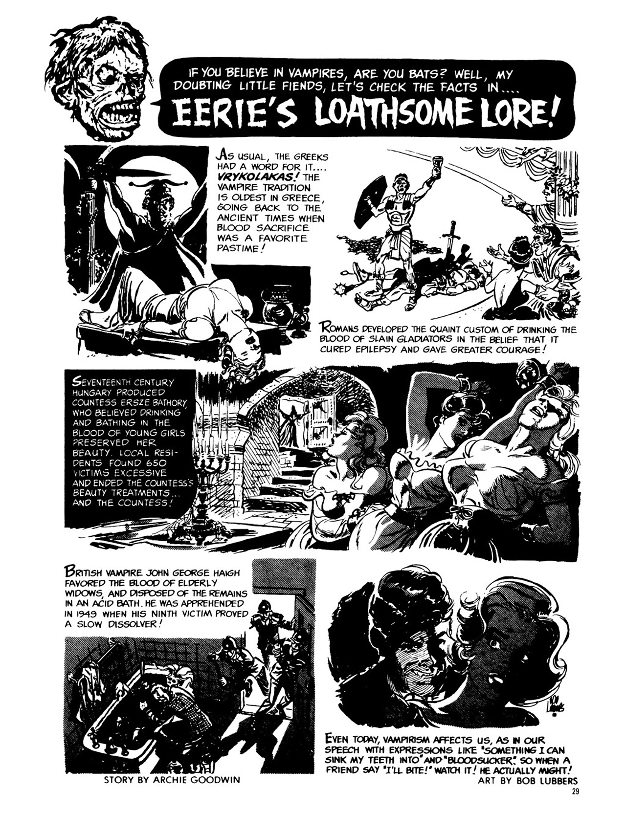 Read online Eerie Archives comic -  Issue # TPB 1 - 30