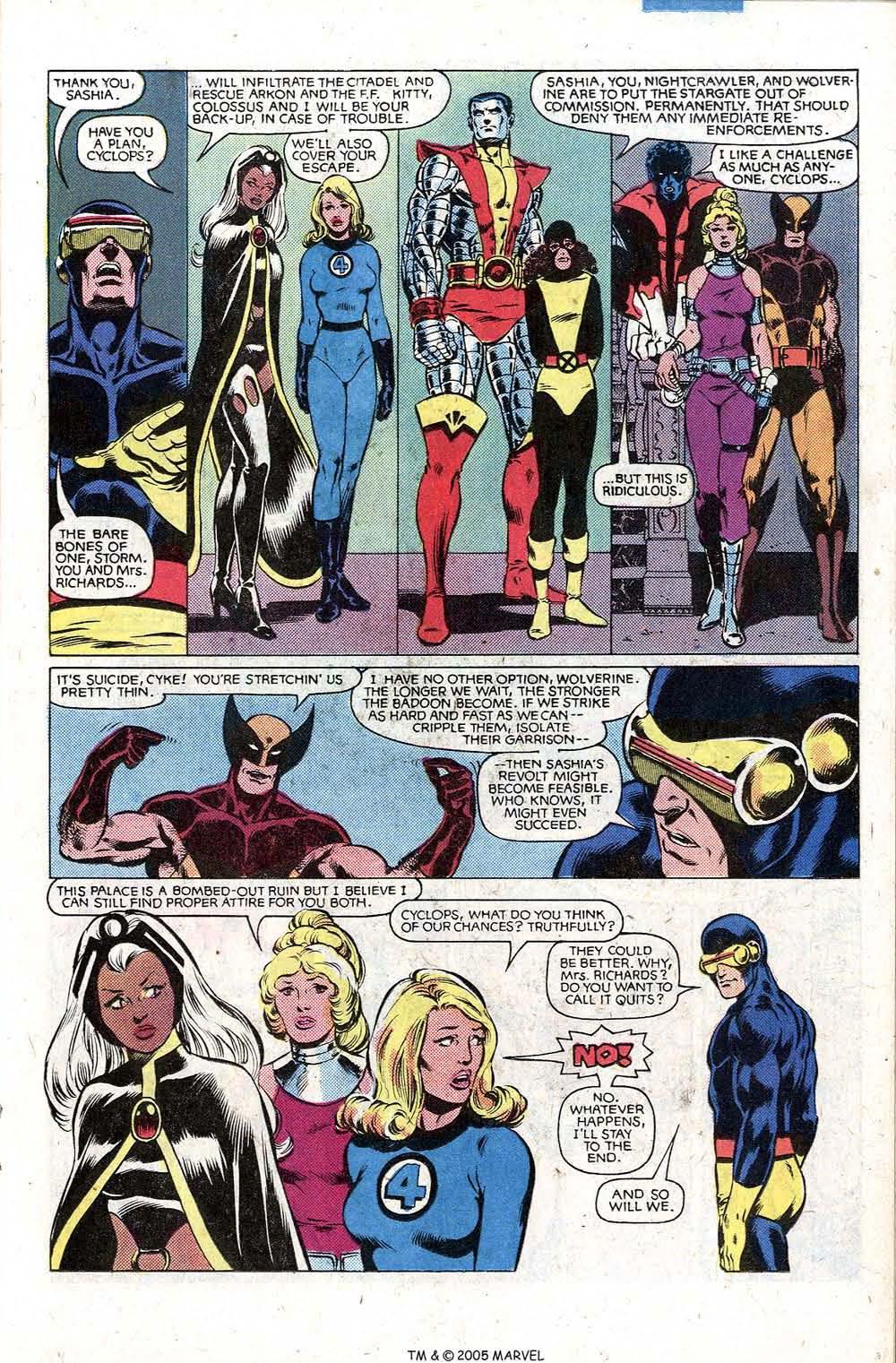Read online Uncanny X-Men (1963) comic -  Issue # _Annual 5 - 23