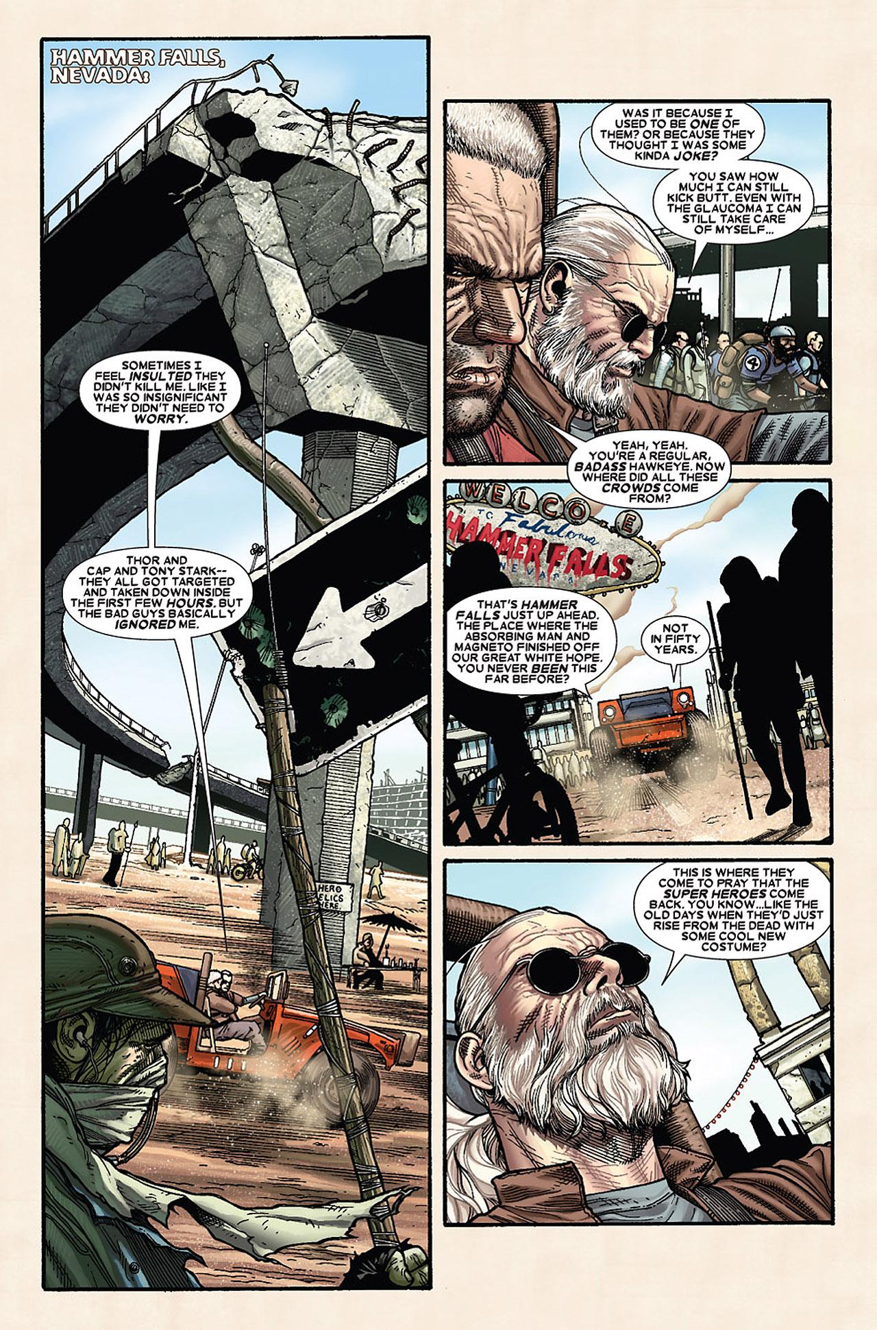 Read online Wolverine: Old Man Logan comic -  Issue # Full - 42