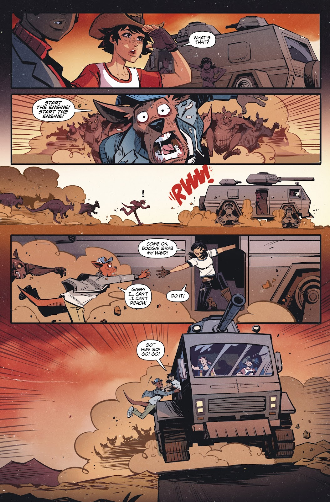 Read online Tank Girl Ongoing comic -  Issue #2 - 11