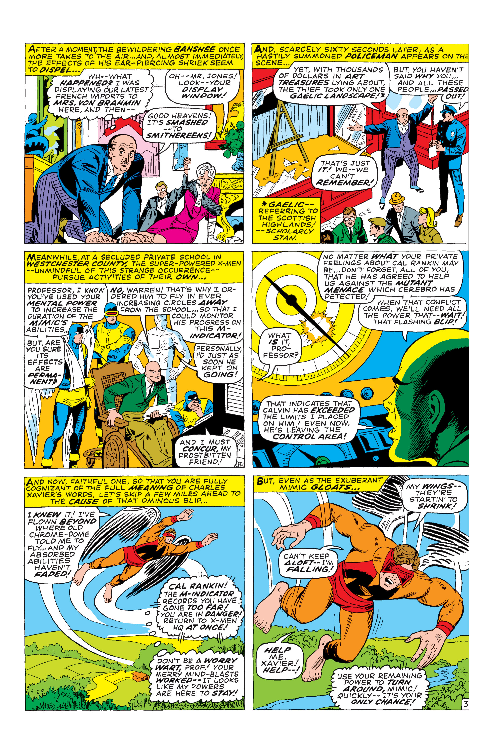 Read online Uncanny X-Men (1963) comic -  Issue #28 - 4