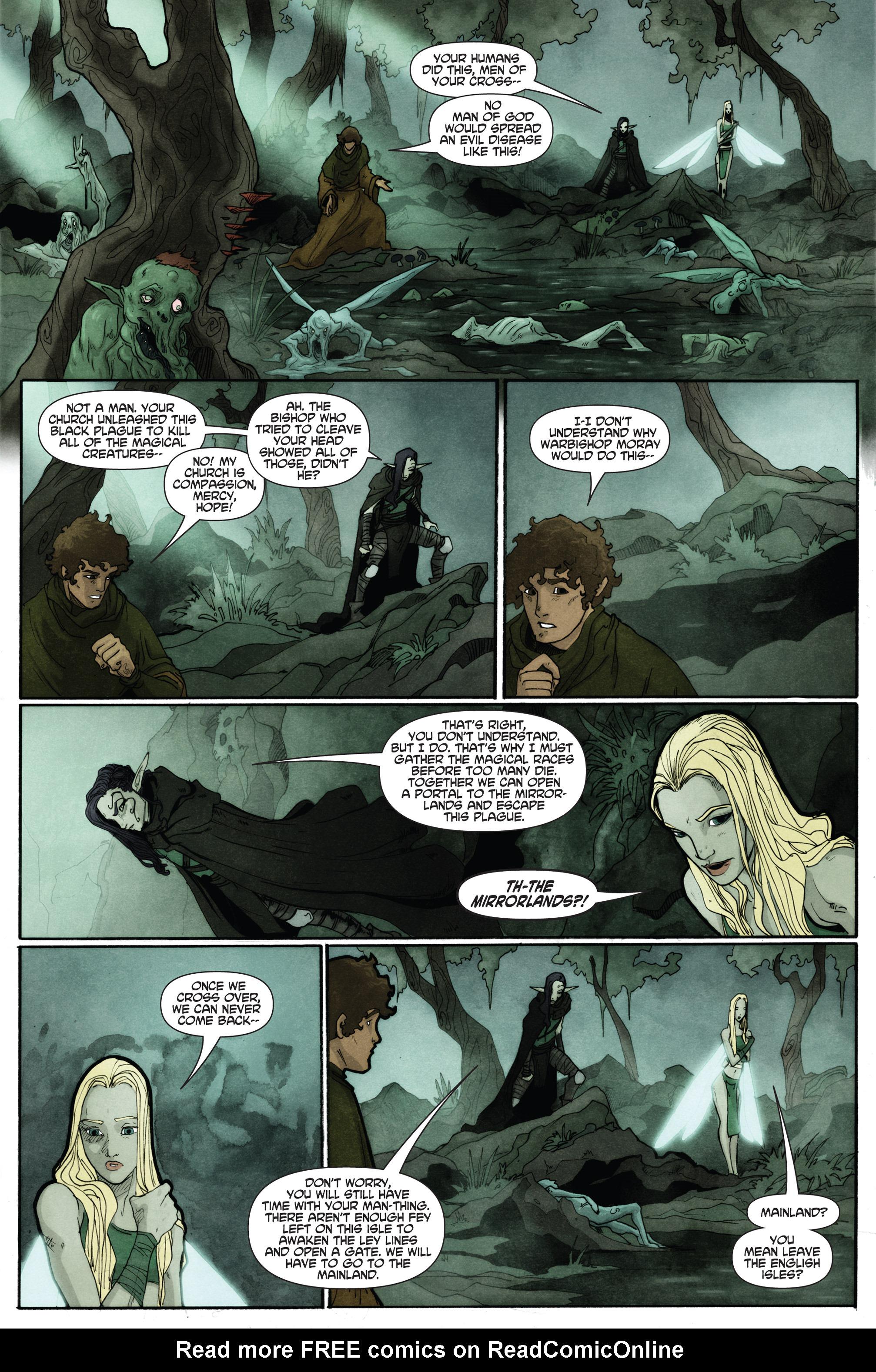 Read online Plague comic -  Issue #2 - 21