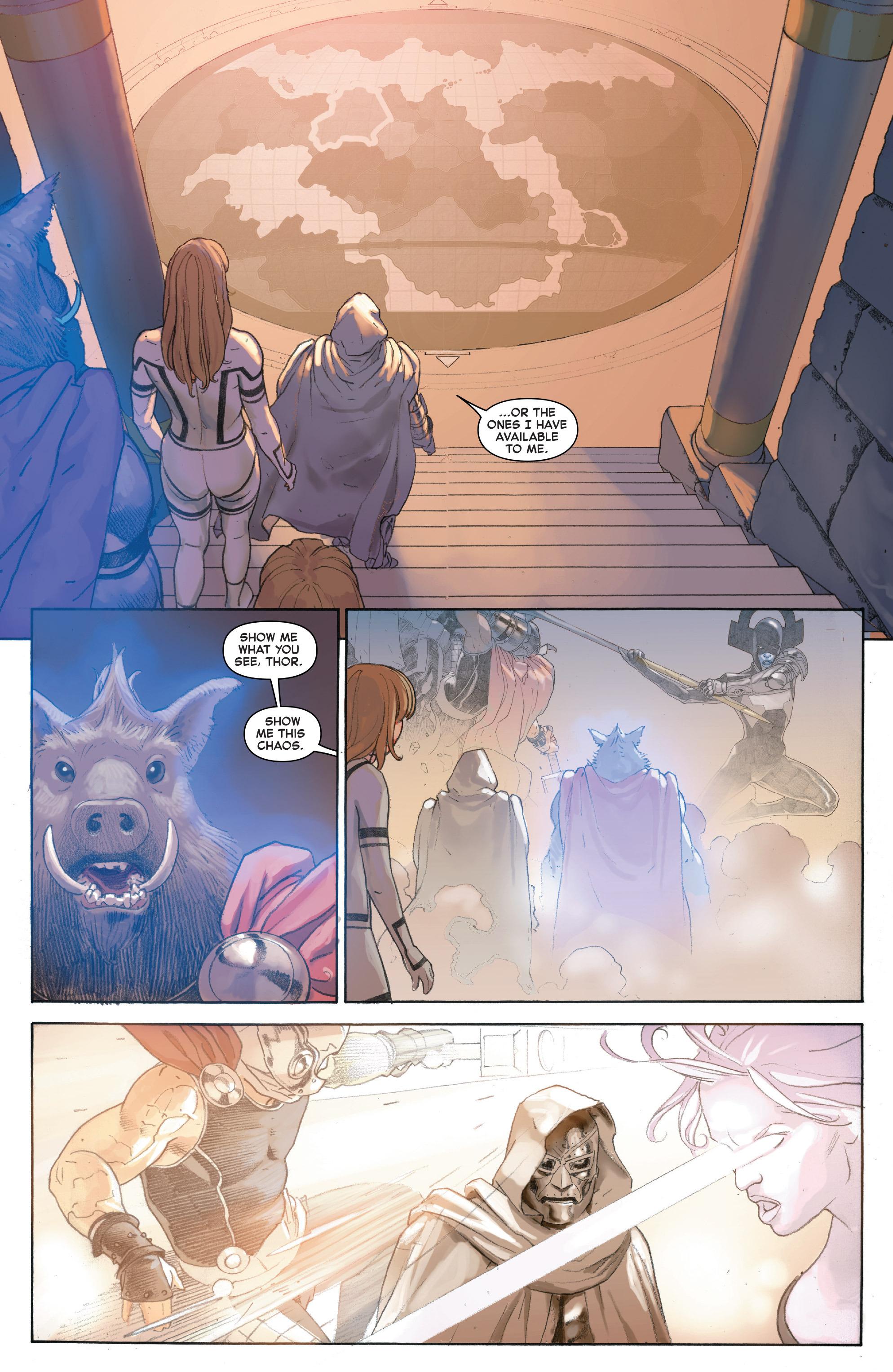 Read online Secret Wars comic -  Issue #4 - 21