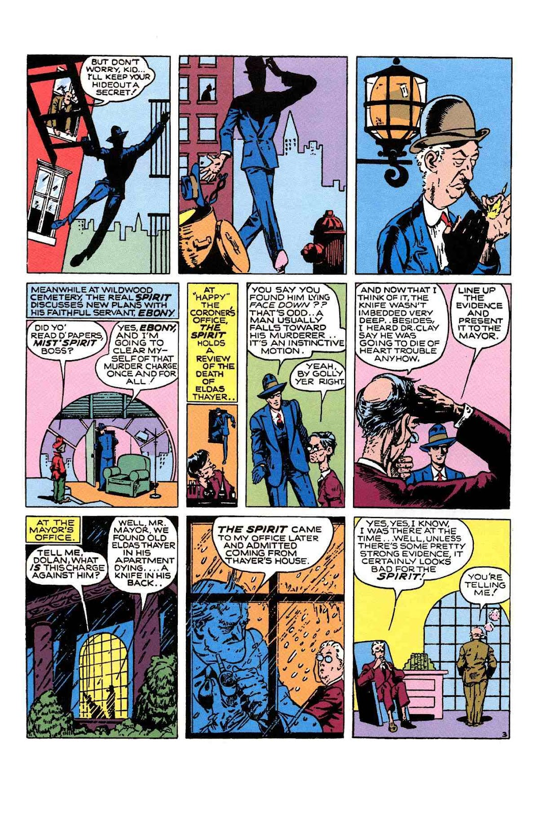 Read online Will Eisner's The Spirit Archives comic -  Issue # TPB 1 (Part 2) - 37