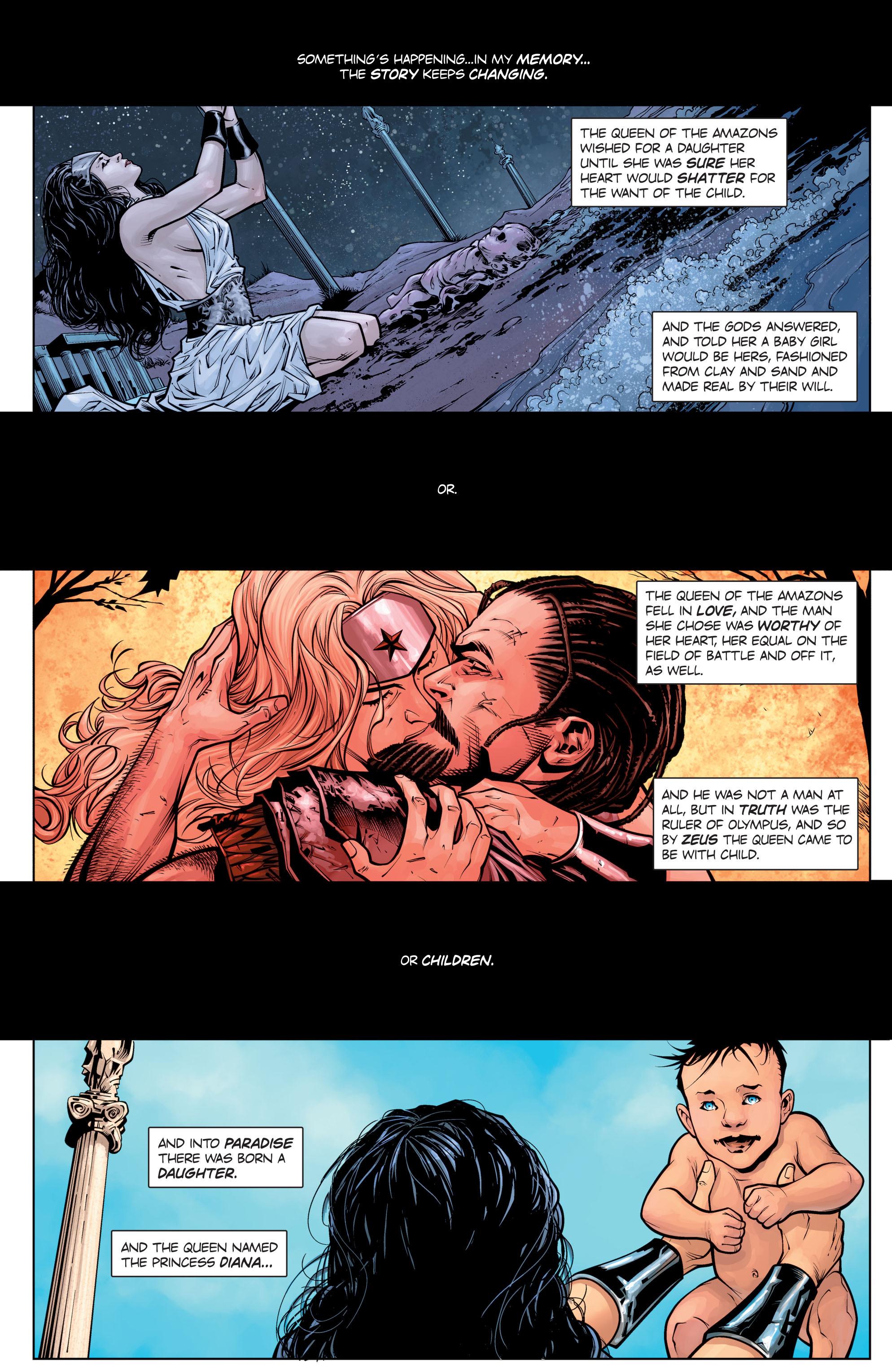 Read online Wonder Woman: Rebirth comic -  Issue # Full - 4
