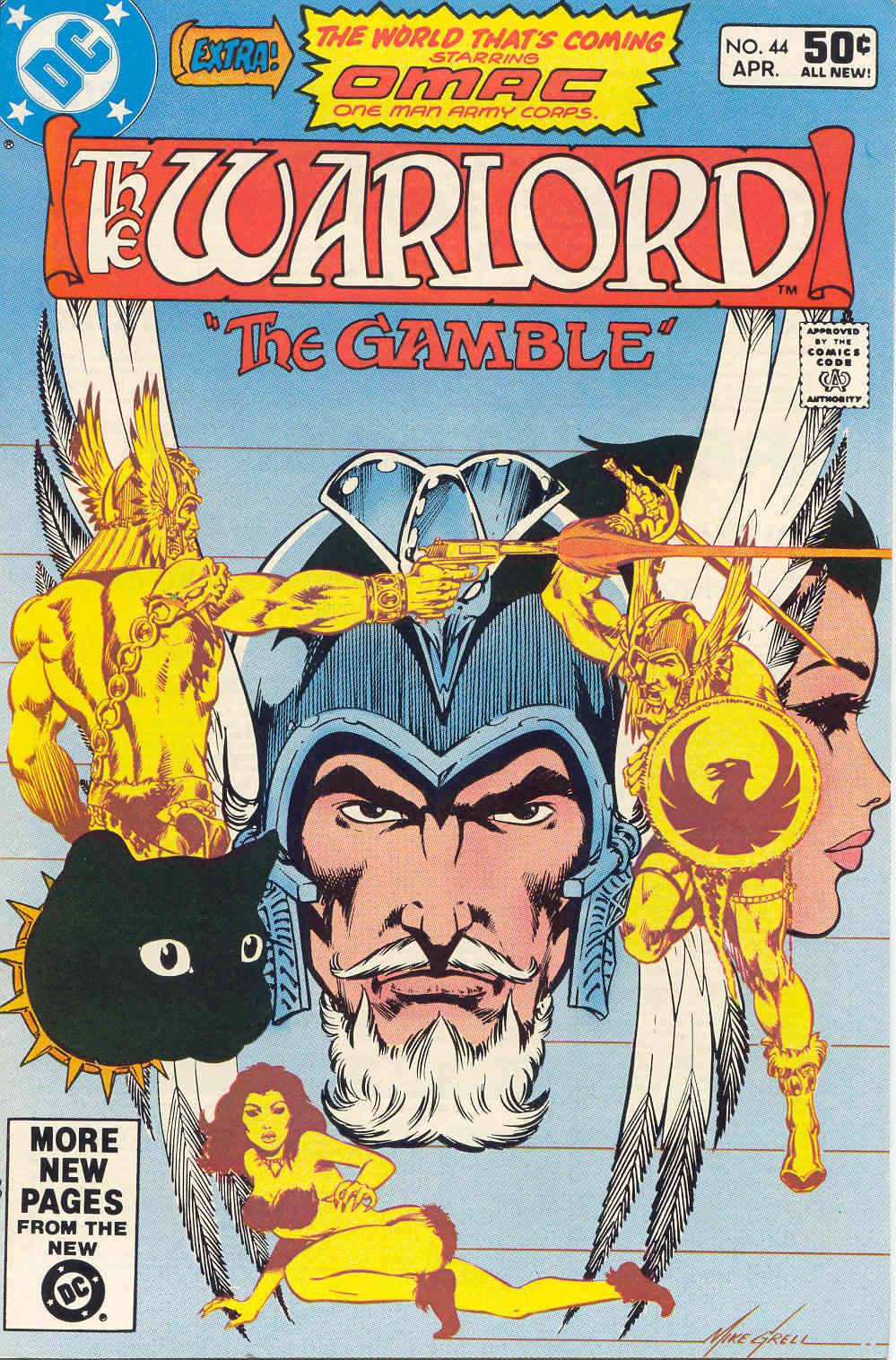 Warlord (1976) 44 Page 1