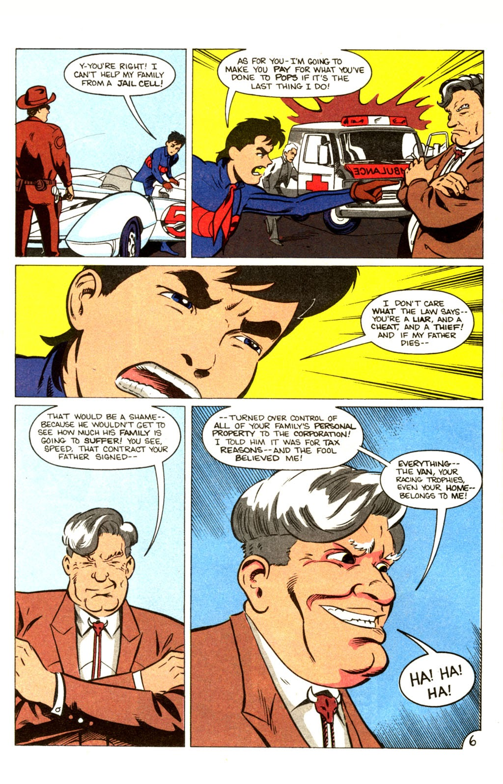 Speed Racer (1987) issue 30 - Page 7