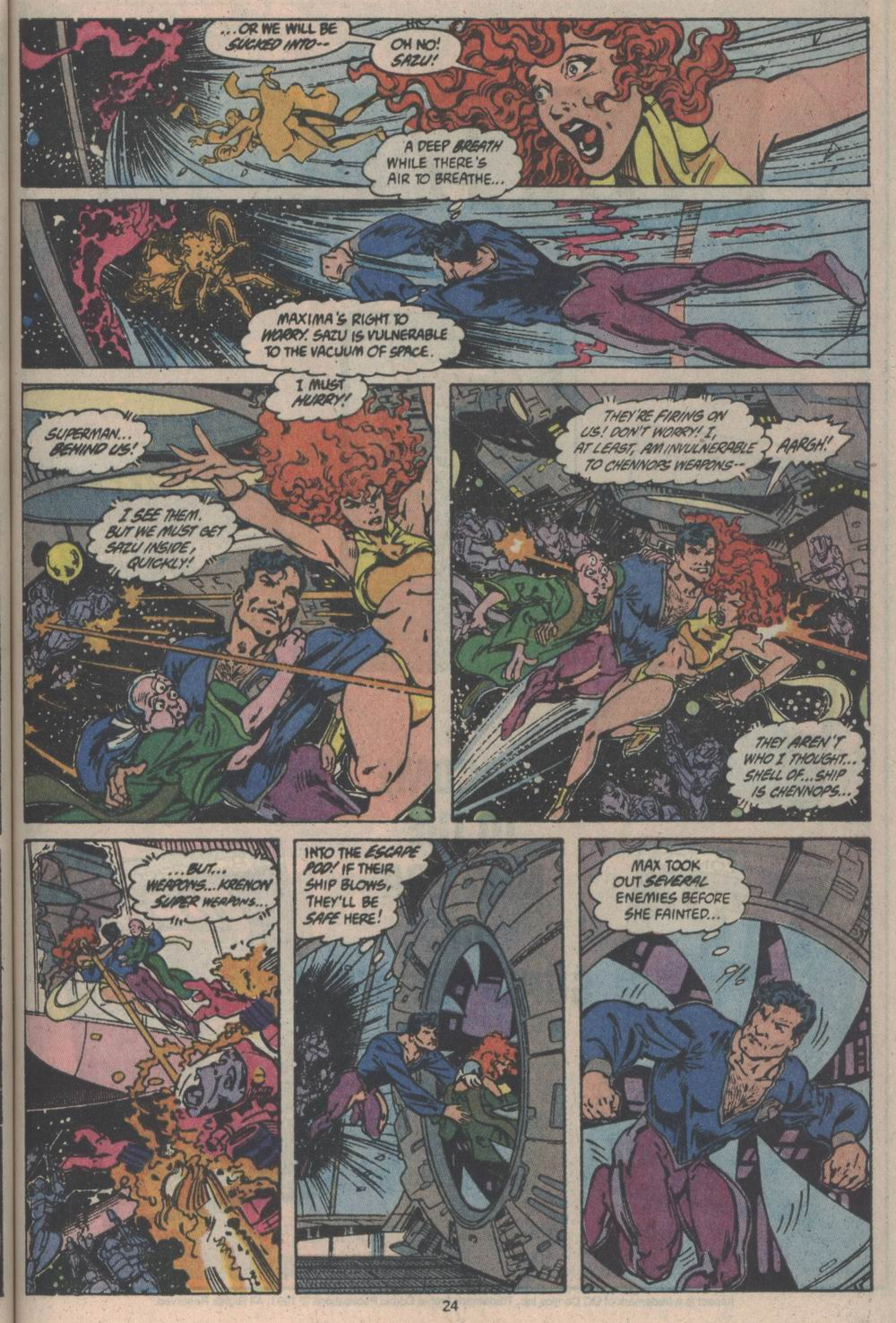 Adventures of Superman (1987) issue _Annual_3 - Page 24