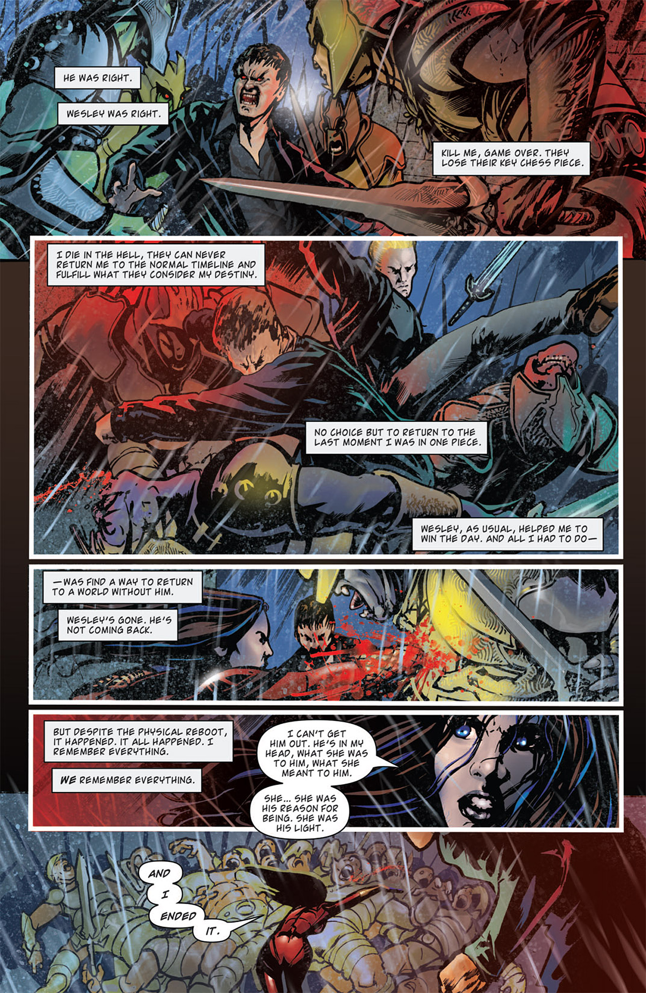 Read online Angel: After The Fall comic -  Issue #16 - 17