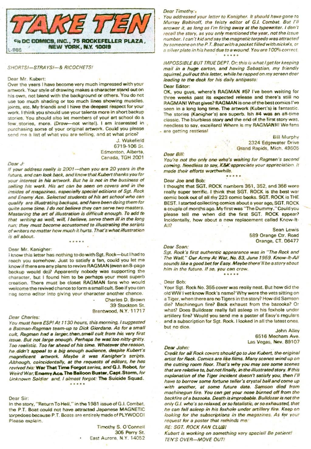 Read online Sgt. Rock comic -  Issue #365 - 32