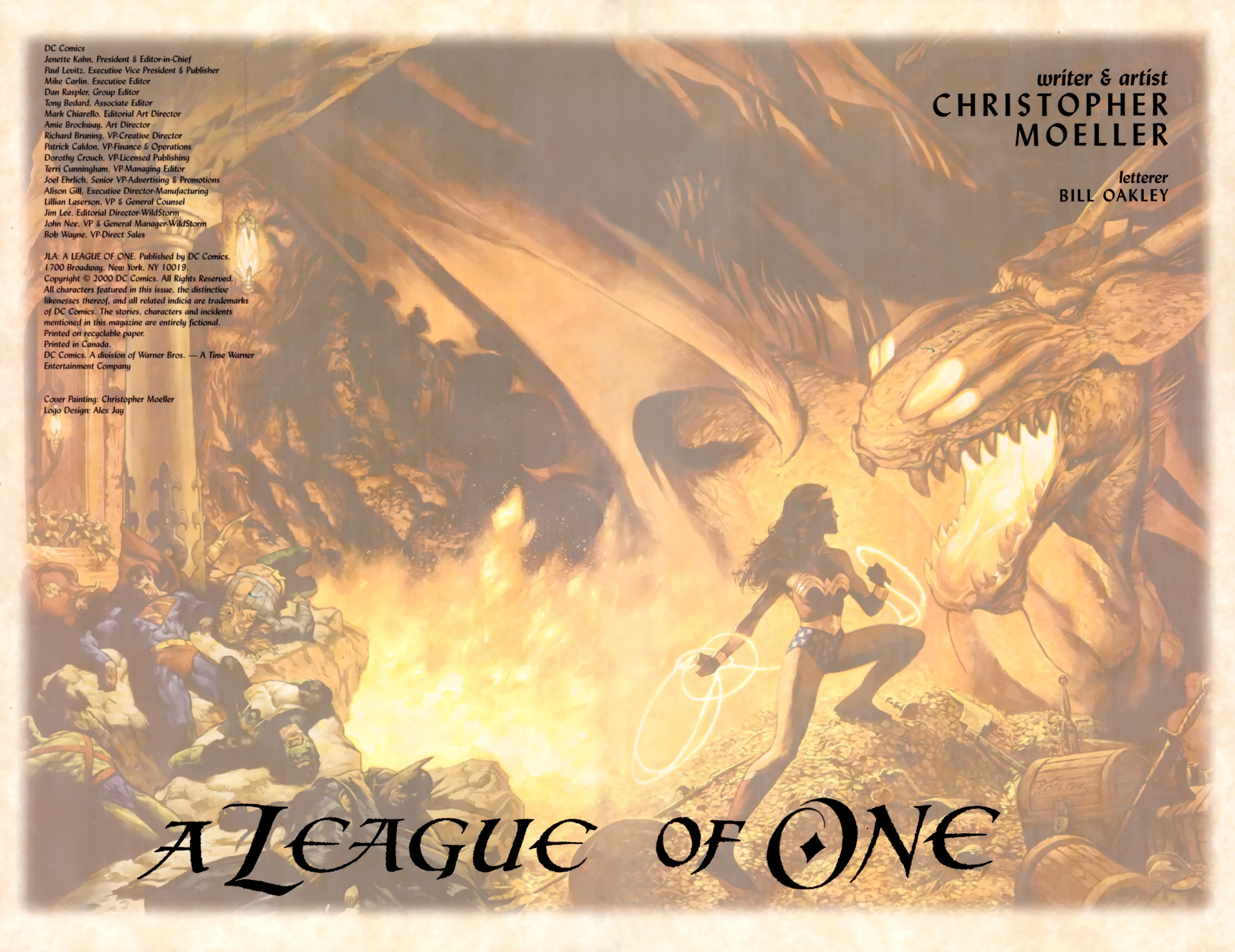 Read online JLA: A League of One comic -  Issue # Full - 6