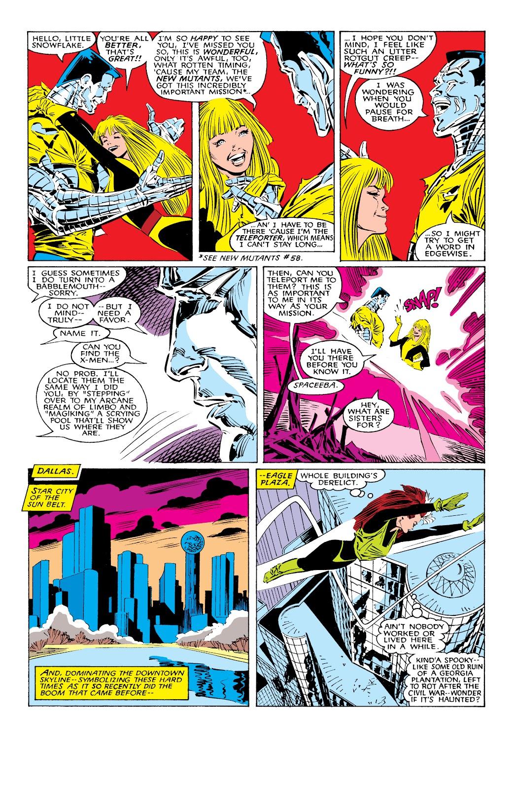 Read online X-Men Milestones: Fall of the Mutants comic -  Issue # TPB (Part 1) - 15