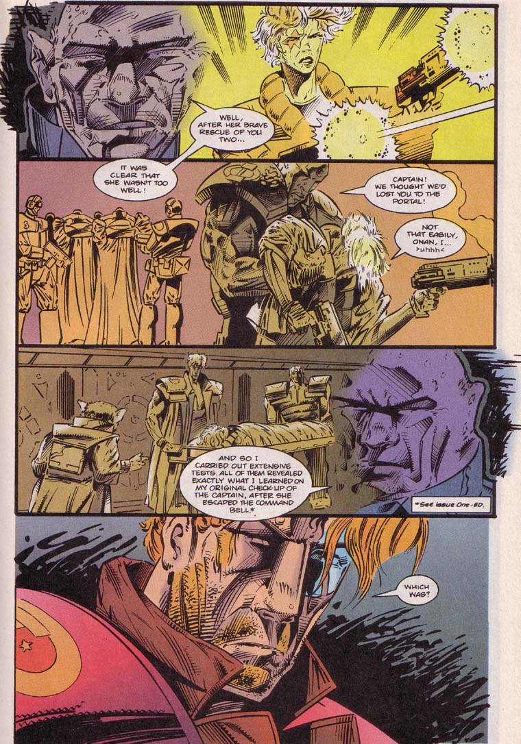 Read online Cyberspace 3000 comic -  Issue #4 - 13