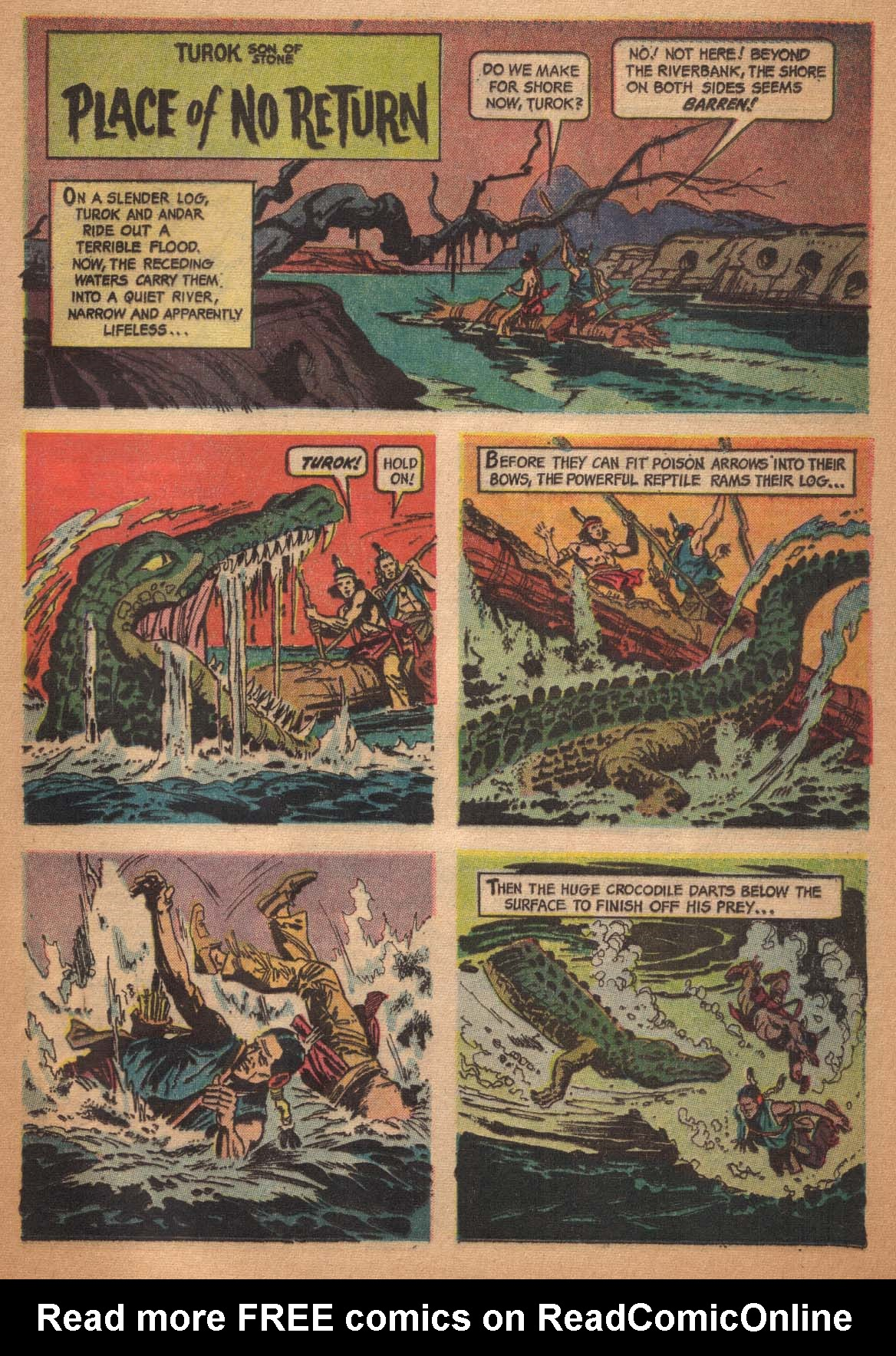 Read online Turok, Son of Stone comic -  Issue #47 - 25
