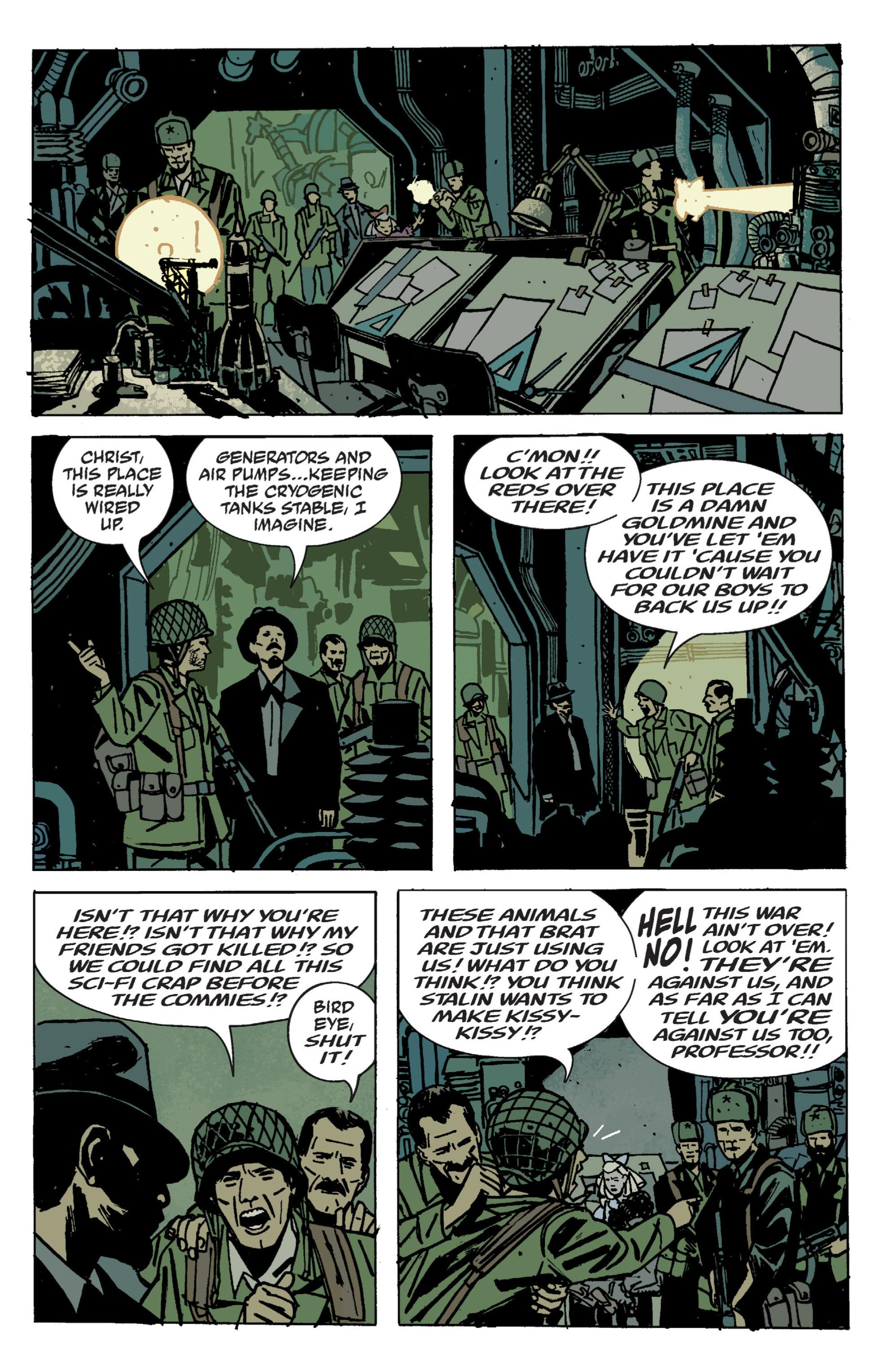 Read online B.P.R.D. (2003) comic -  Issue # TPB 9 - 105