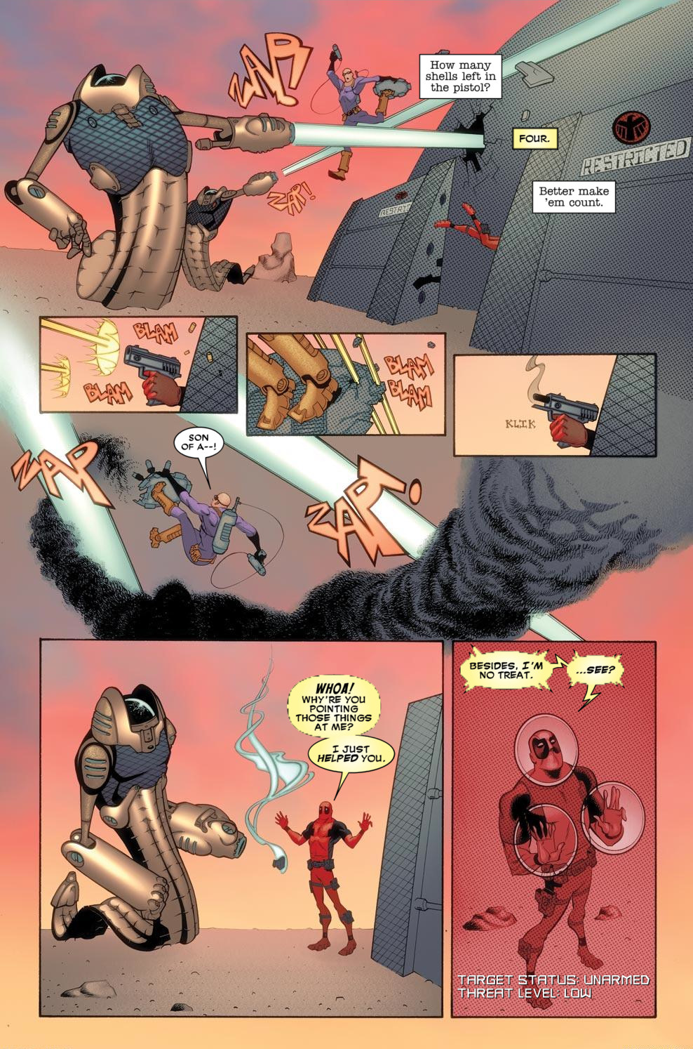 Read online Deadpool (2008) comic -  Issue #57 - 5