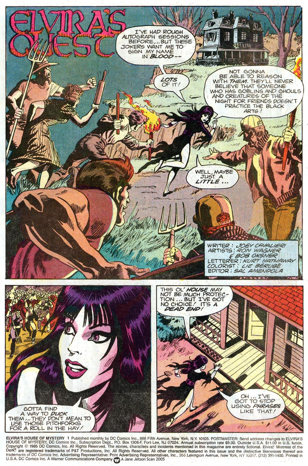Elvira's House of Mystery Issue #1 #2 - English 3