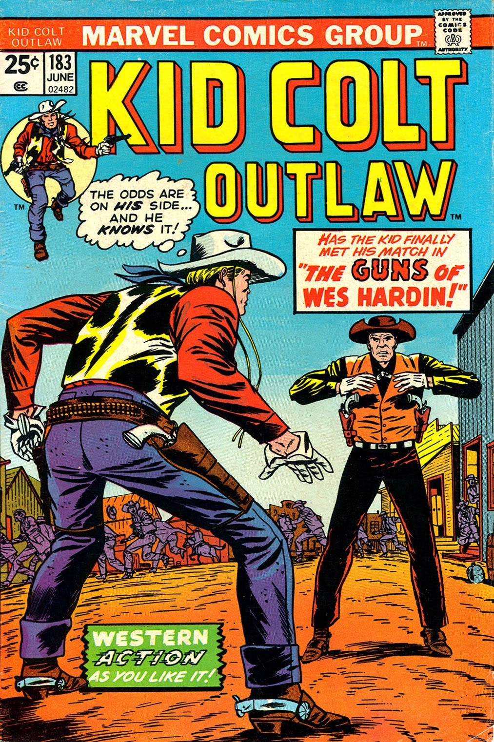 Kid Colt Outlaw issue 183 - Page 1