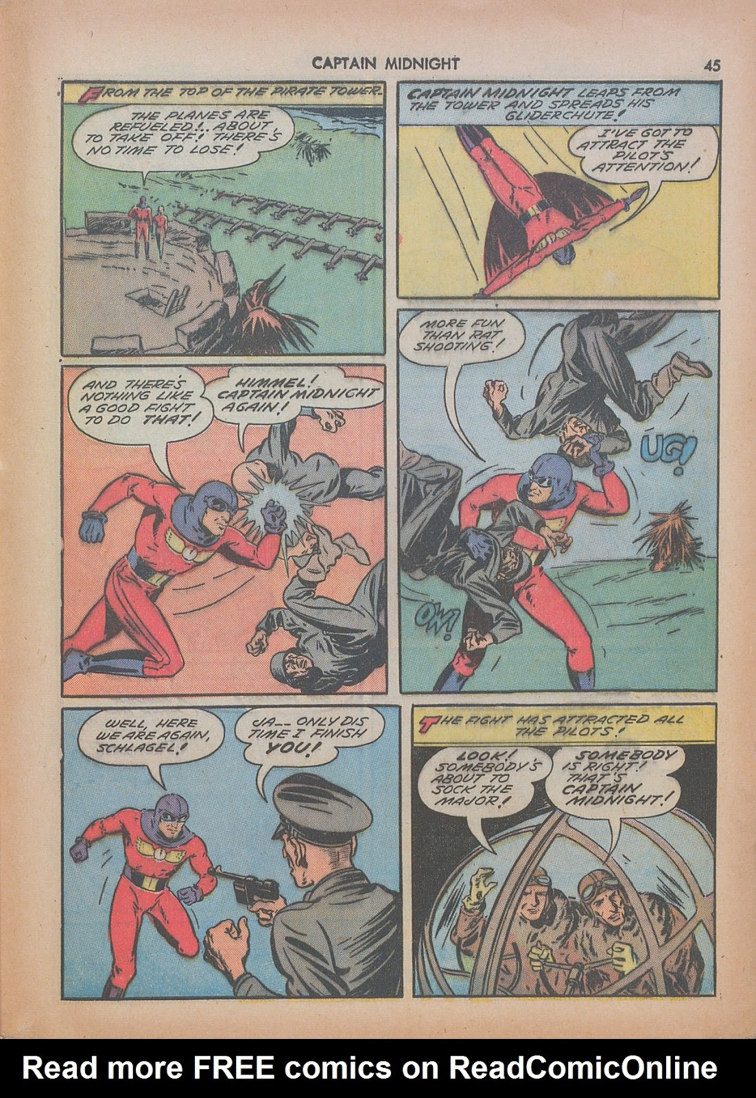 Captain Midnight (1942) issue 7 - Page 45