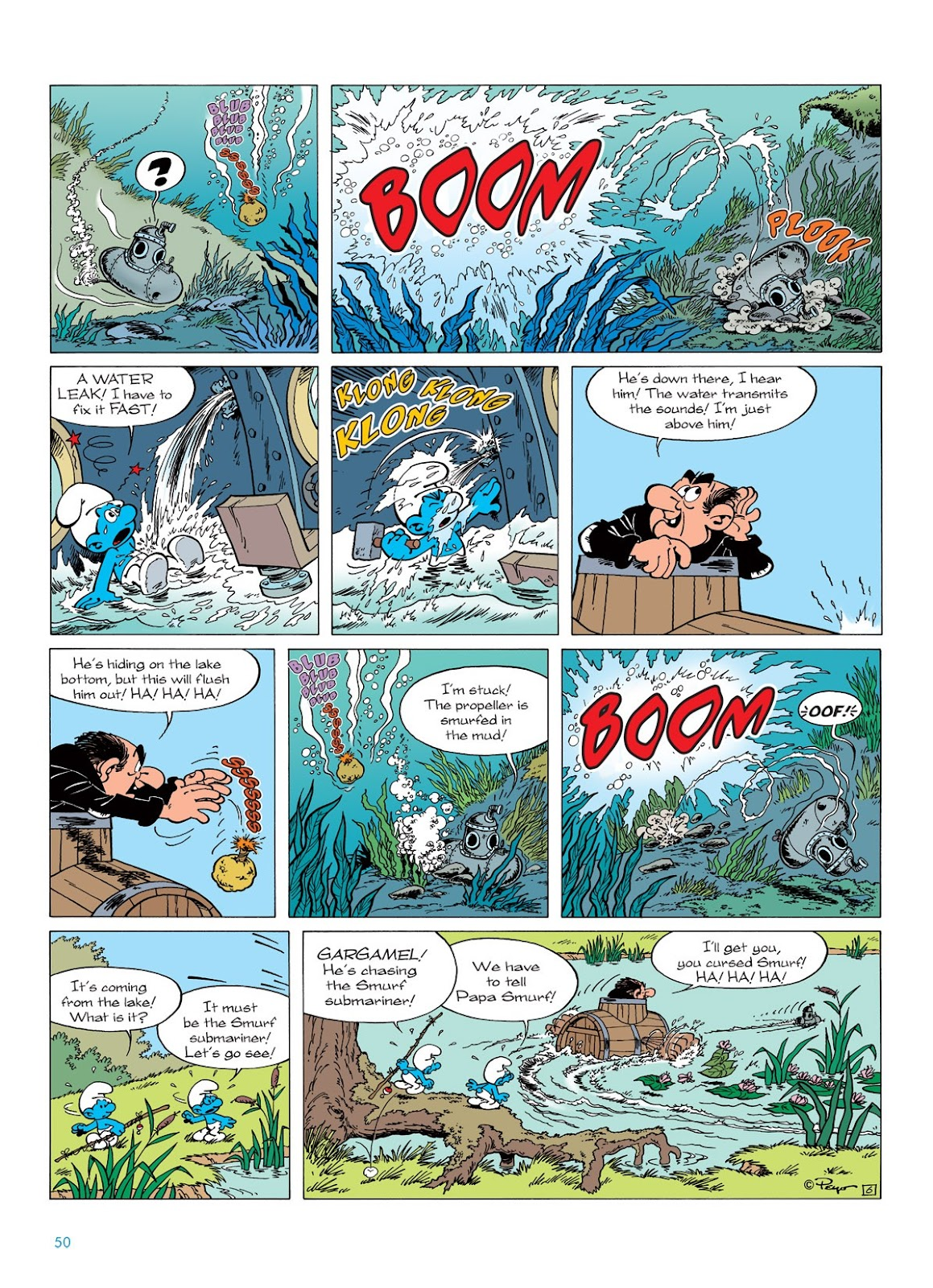 Read online The Smurfs comic -  Issue #7 - 50