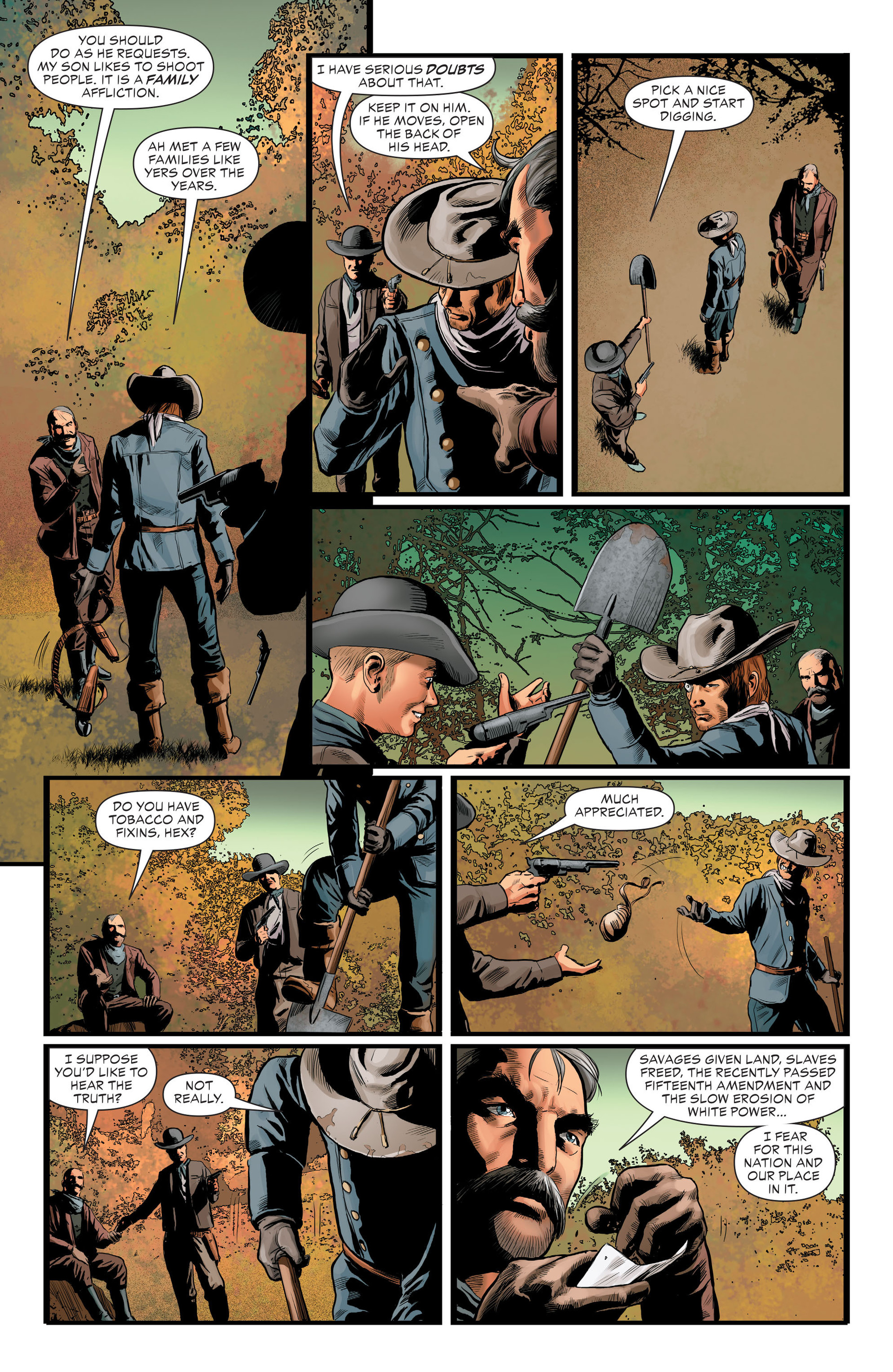 Read online All-Star Western (2011) comic -  Issue #29 - 14
